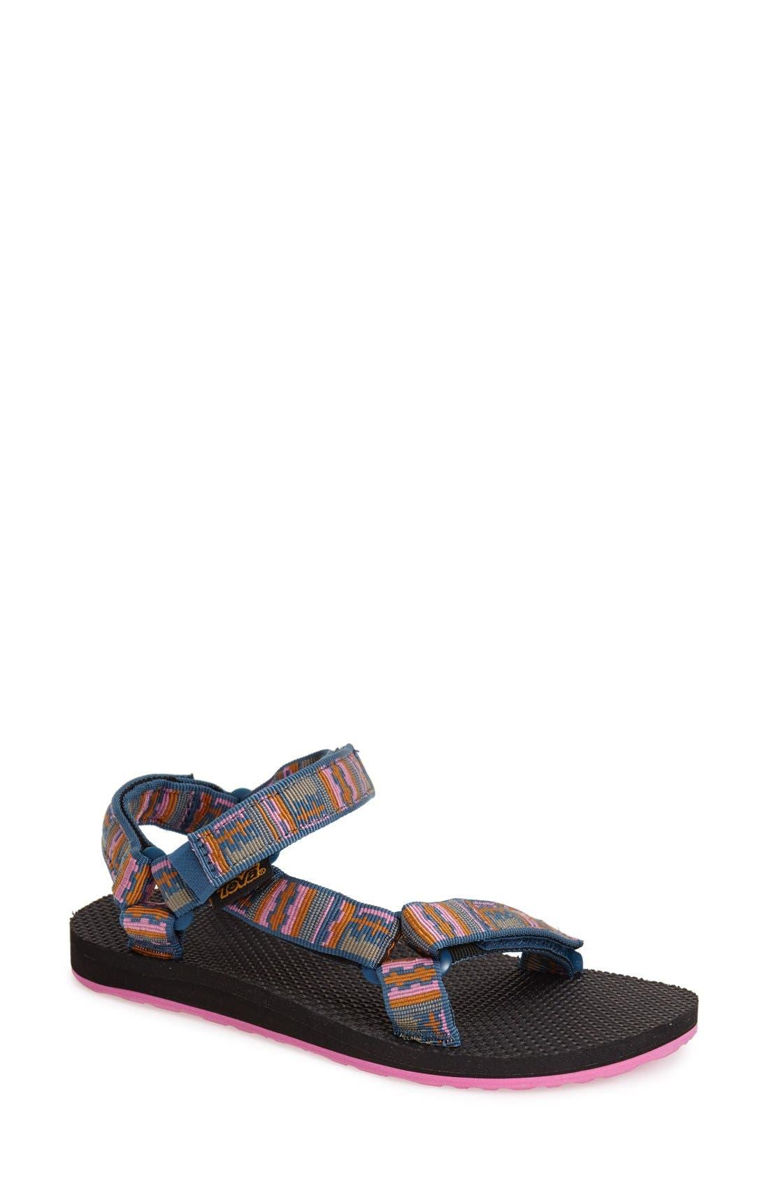 Alternate Image 1 Selected - Teva 'Original Universal' Water Friendly Print Sandal (Women)