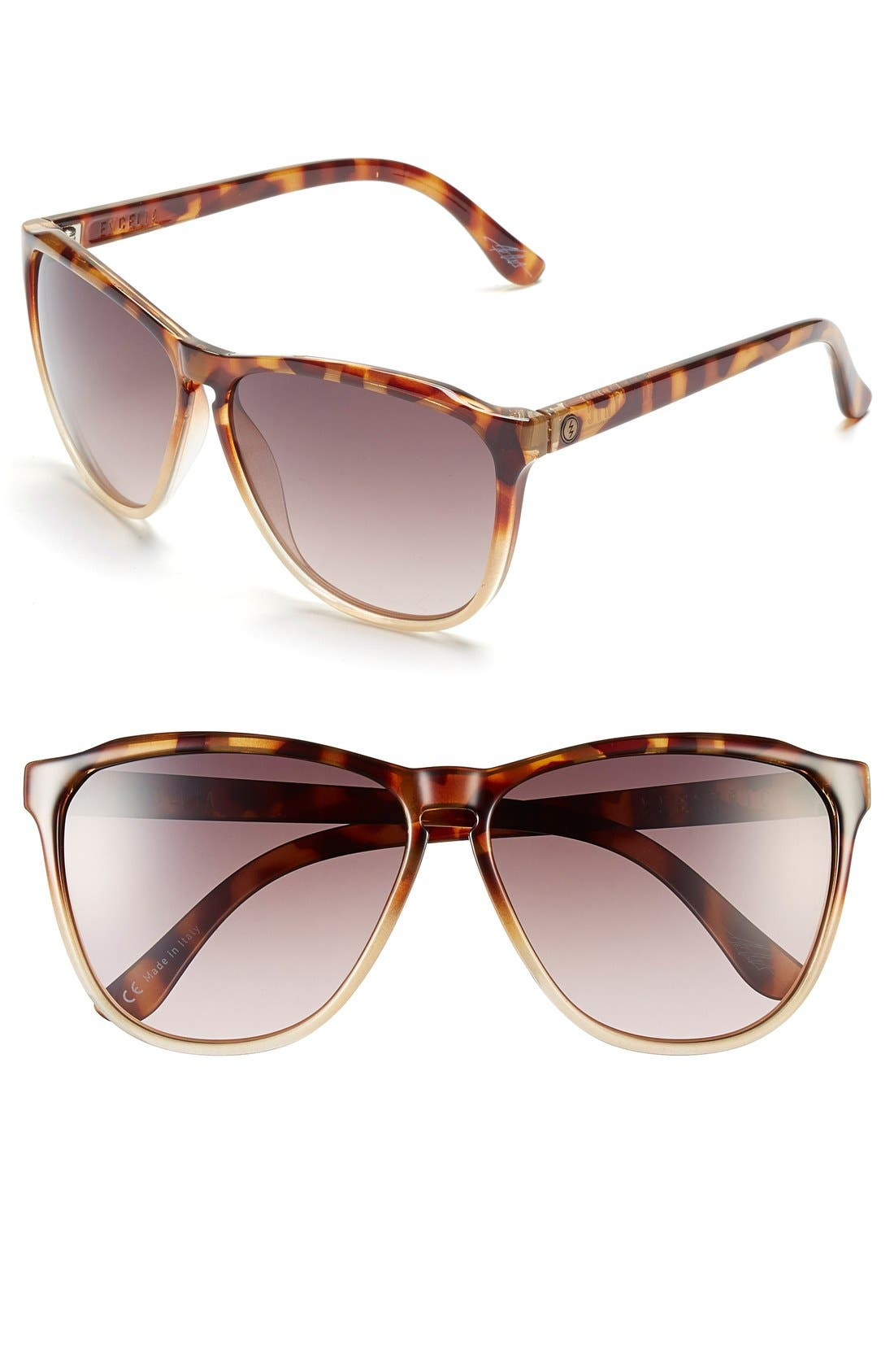 ELECTRIC Encelia 66mm Retro Sunglasses