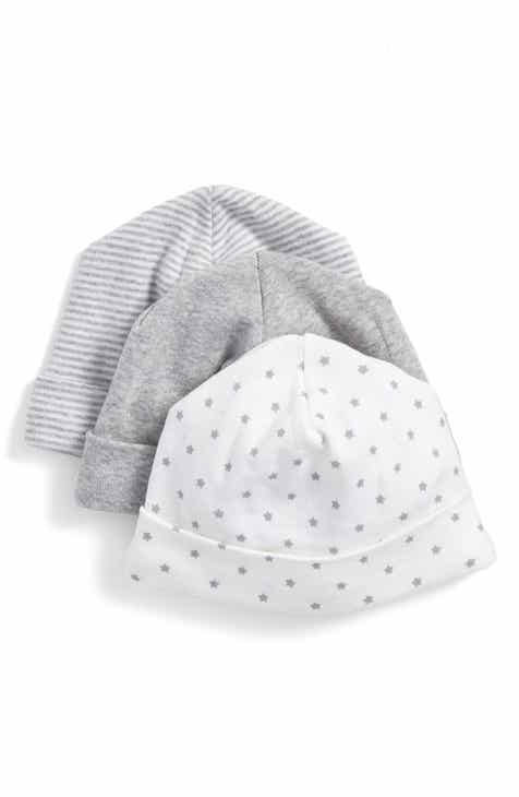 8a2652c8d30 Nordstrom Baby Cotton Hats (3-Pack) (Baby)