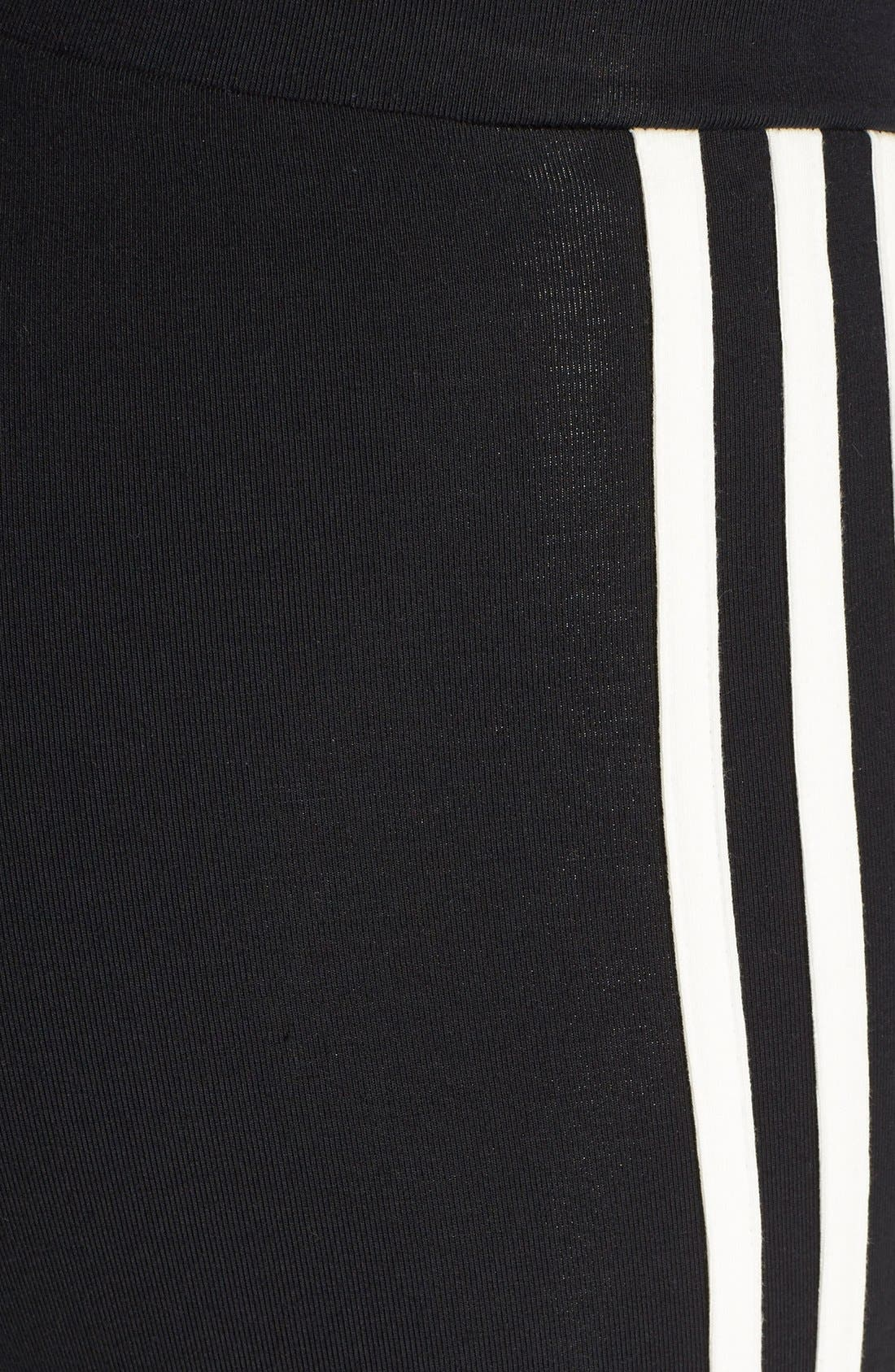 Alternate Image 4  - adidas Originals '3-Stripes' Stretch Cotton Leggings