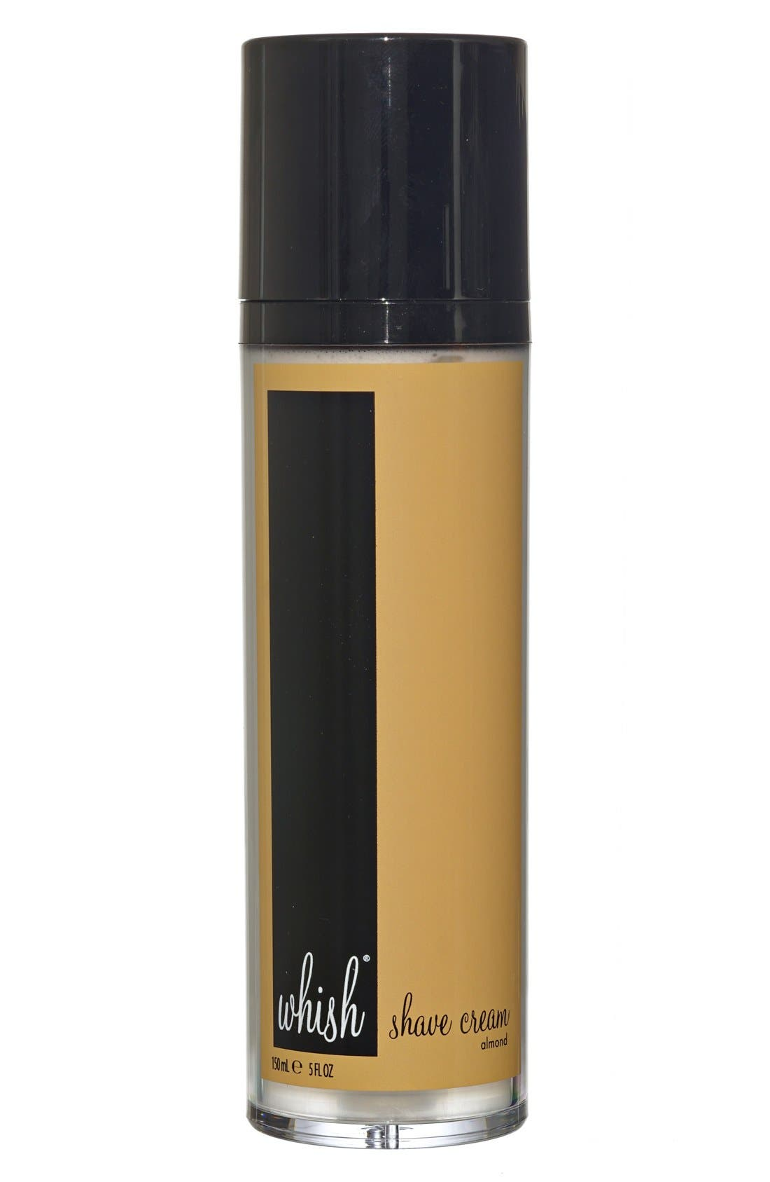 Whish™ Almond Shave Cream