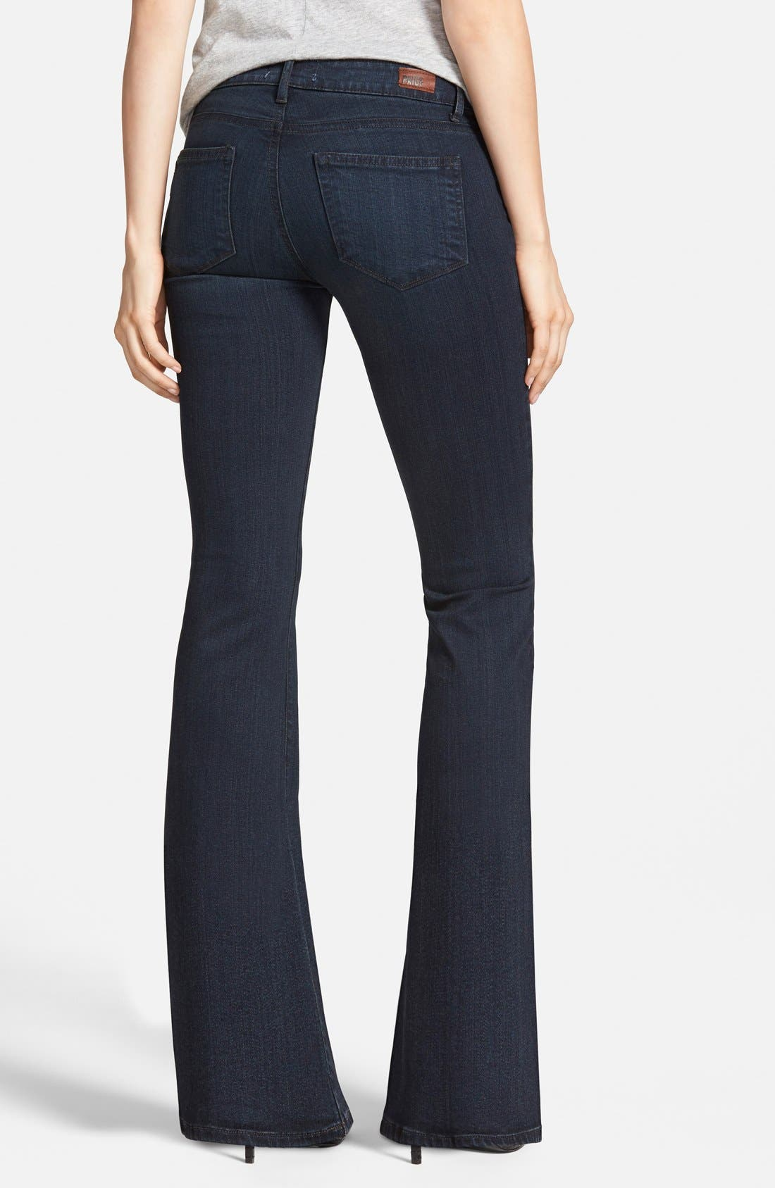 Alternate Image 2  - Paige Denim 'Skyline' Bootcut Jeans (Keely) (Petite) (Nordstrom Exclusive)