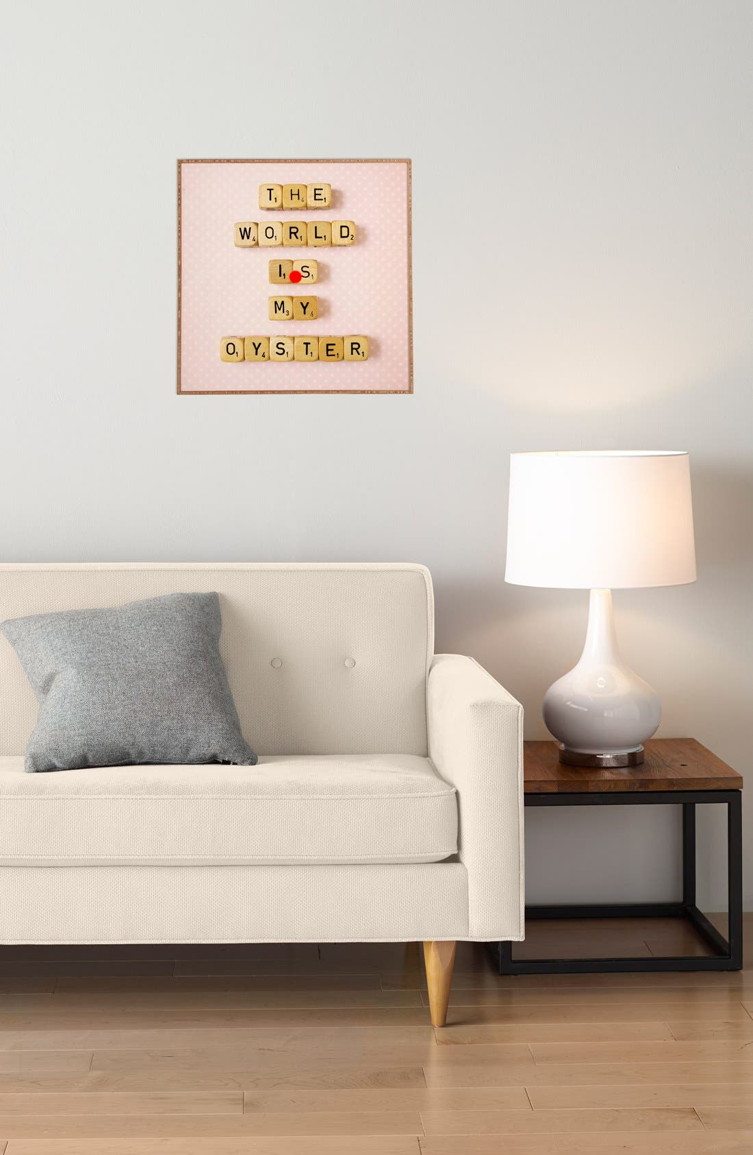 Alternate Image 2  - DENY Designs 'Happee Monkee - The World Is My Oyster' Wall Art