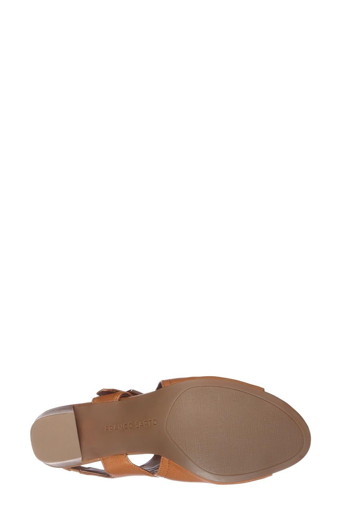 Alternate Image 4  - Franco Sarto 'Gabba' Slingback Sandal (Women)