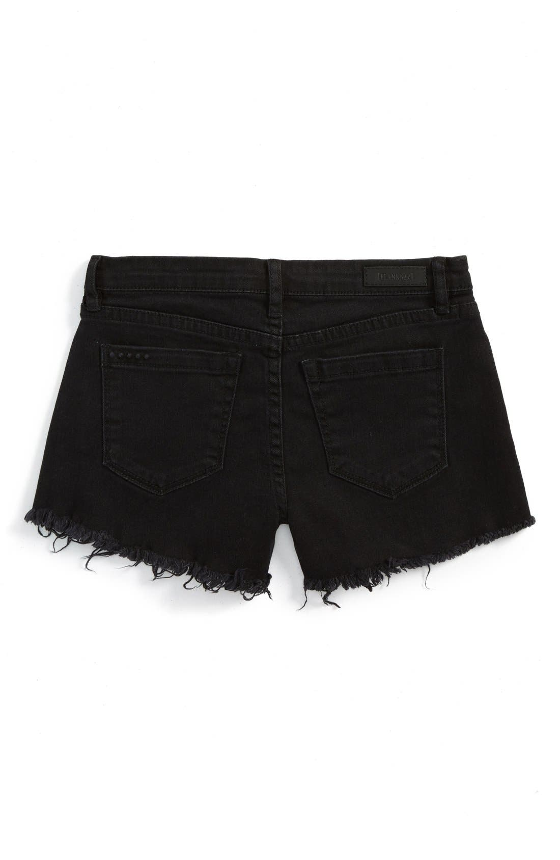 BLANKNYC 'Flavor Savor' Cutoff Denim Shorts (Big Girls)