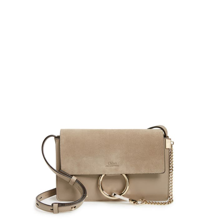 Chloé Small Faye Leather Shoulder Bag | Nordstrom