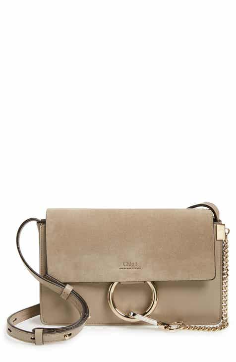 5c9ea8282 Chloé Small Faye Leather Shoulder Bag