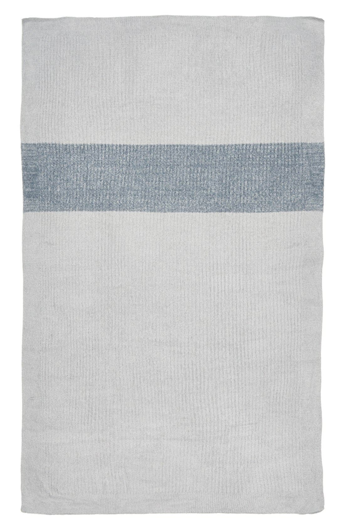 Alternate Image 2  - Barefoot Dreams® Heathered Stripe Throw