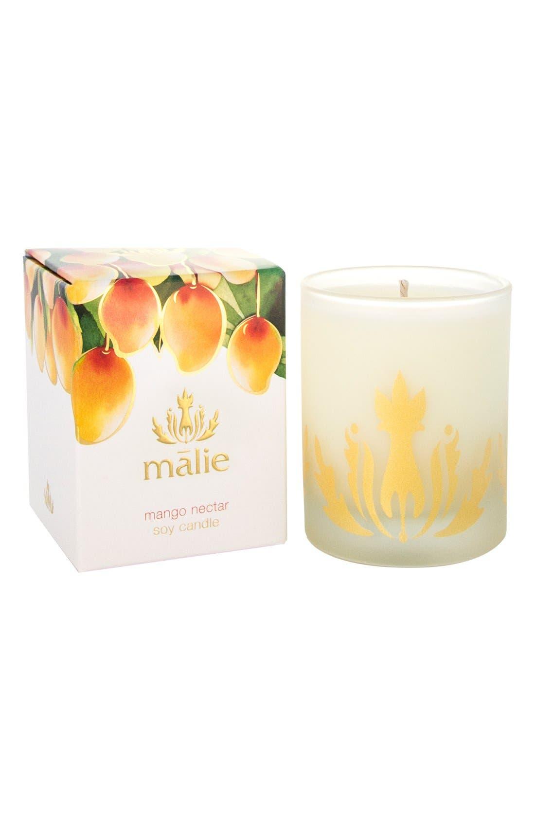Alternate Image 1 Selected - Malie Organics Mango Nectar Soy Candle