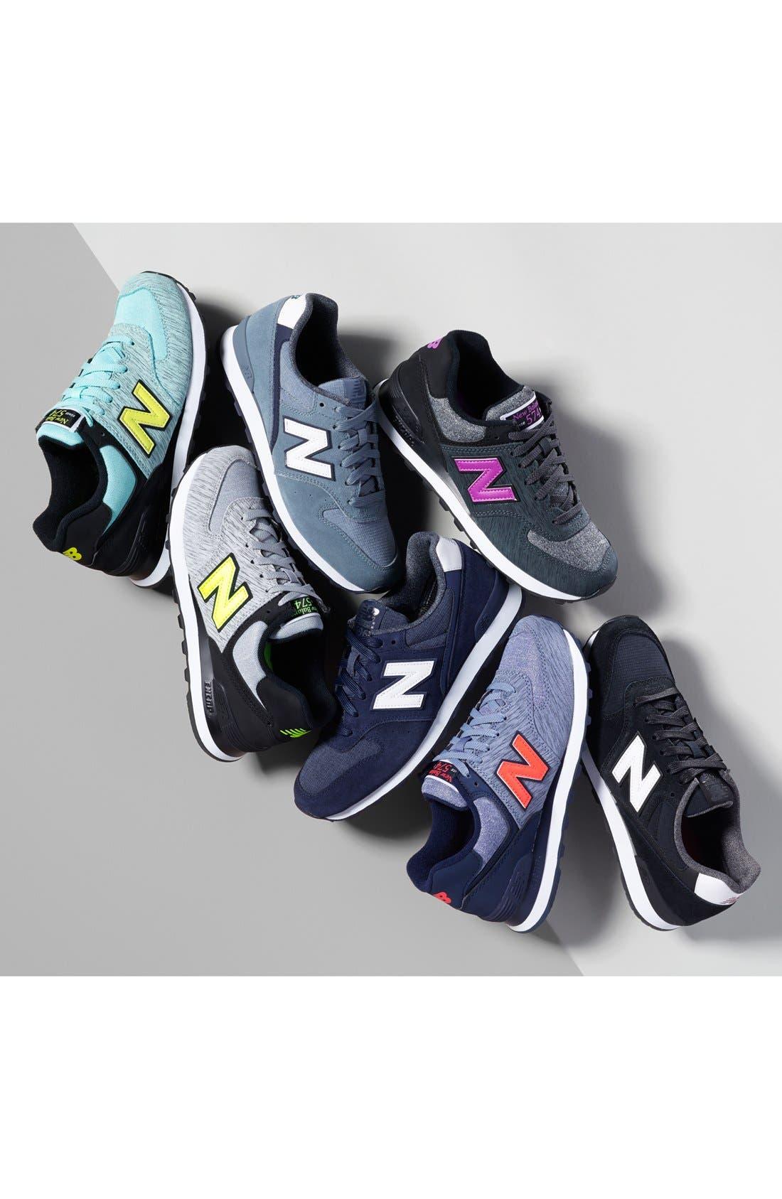Alternate Image 5  - New Balance '574' Sneaker (Women)