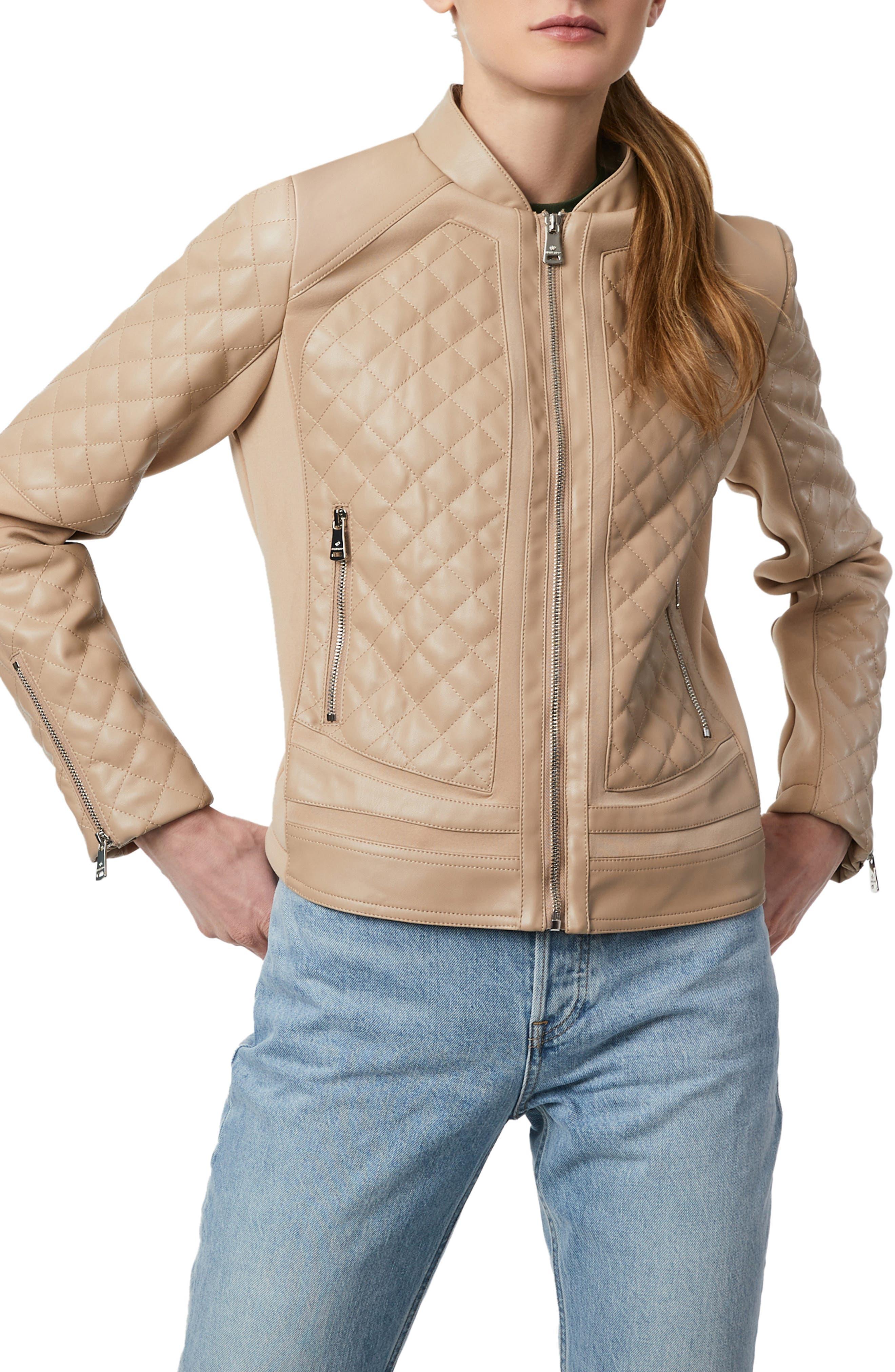 Nouveau Bernardo//NORDSTROM Genuine En Daim Cuir Veste Manteau Bleu Royal S ou M Neuf avec étiquettes