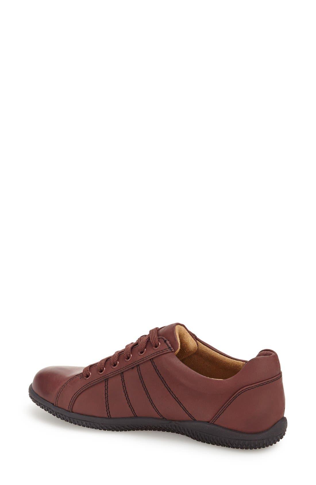 'Hickory' Sneaker,                             Alternate thumbnail 2, color,                             Dark Red