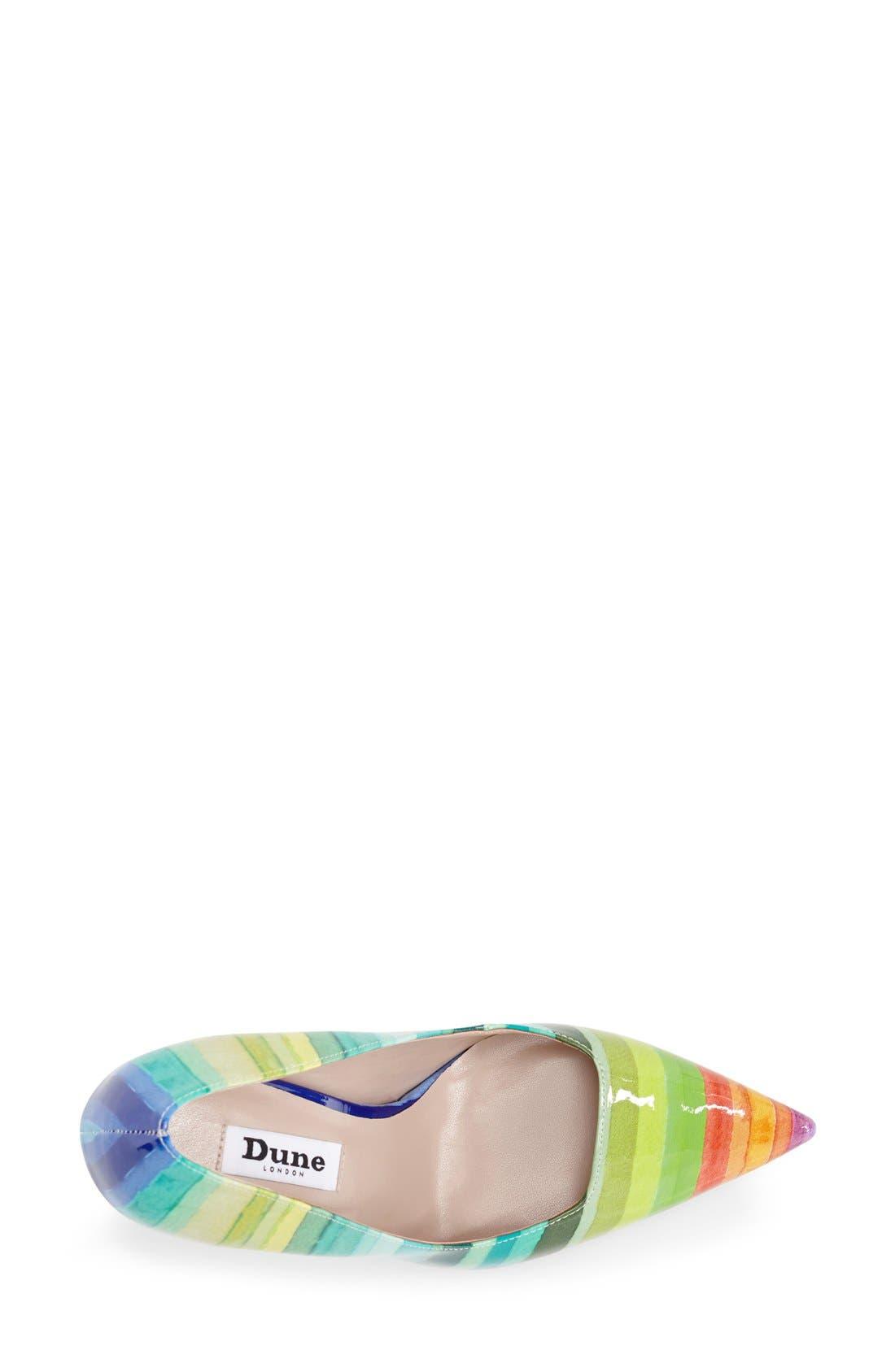 Alternate Image 3  - Dune London 'Brooks' Pointy Toe Pump (Women)