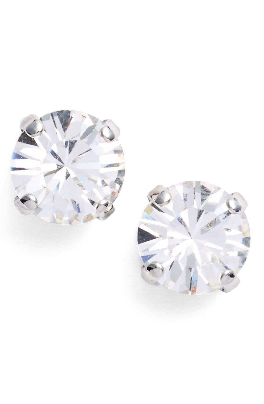 Main Image - L. Erickson 'Grace' Crystal Stud Earrings
