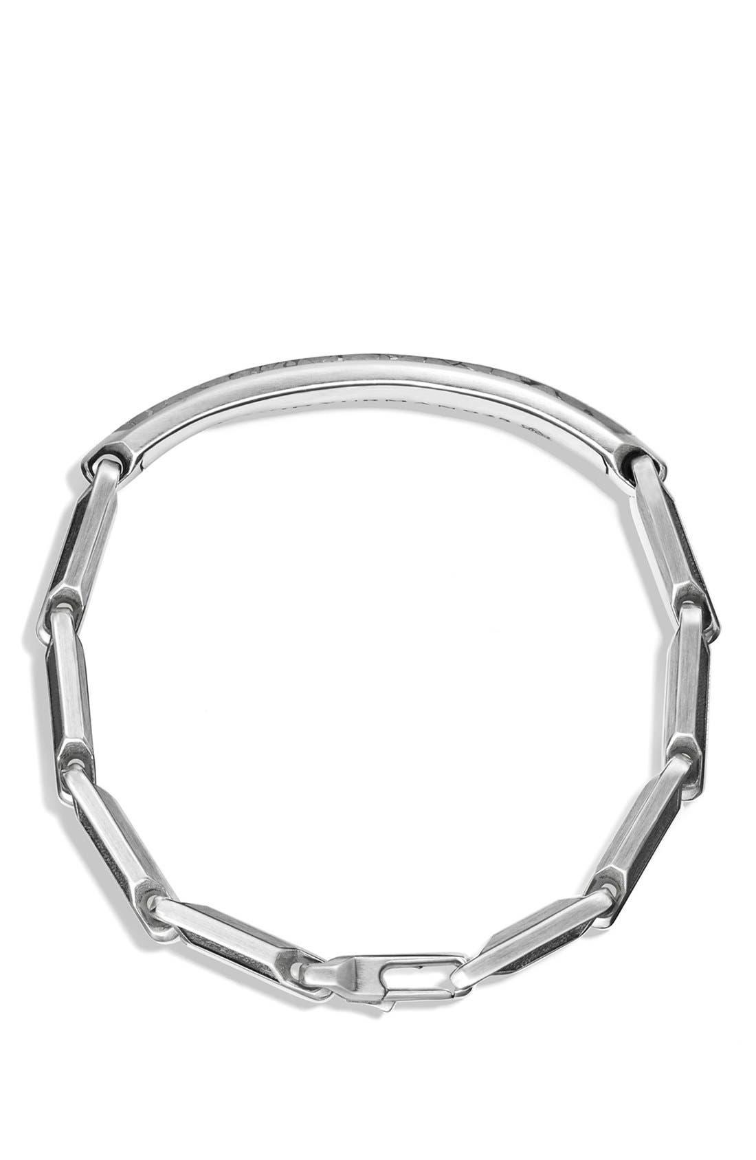 Alternate Image 2  - David Yurman 'Meteorite' Fused ID Bracelet