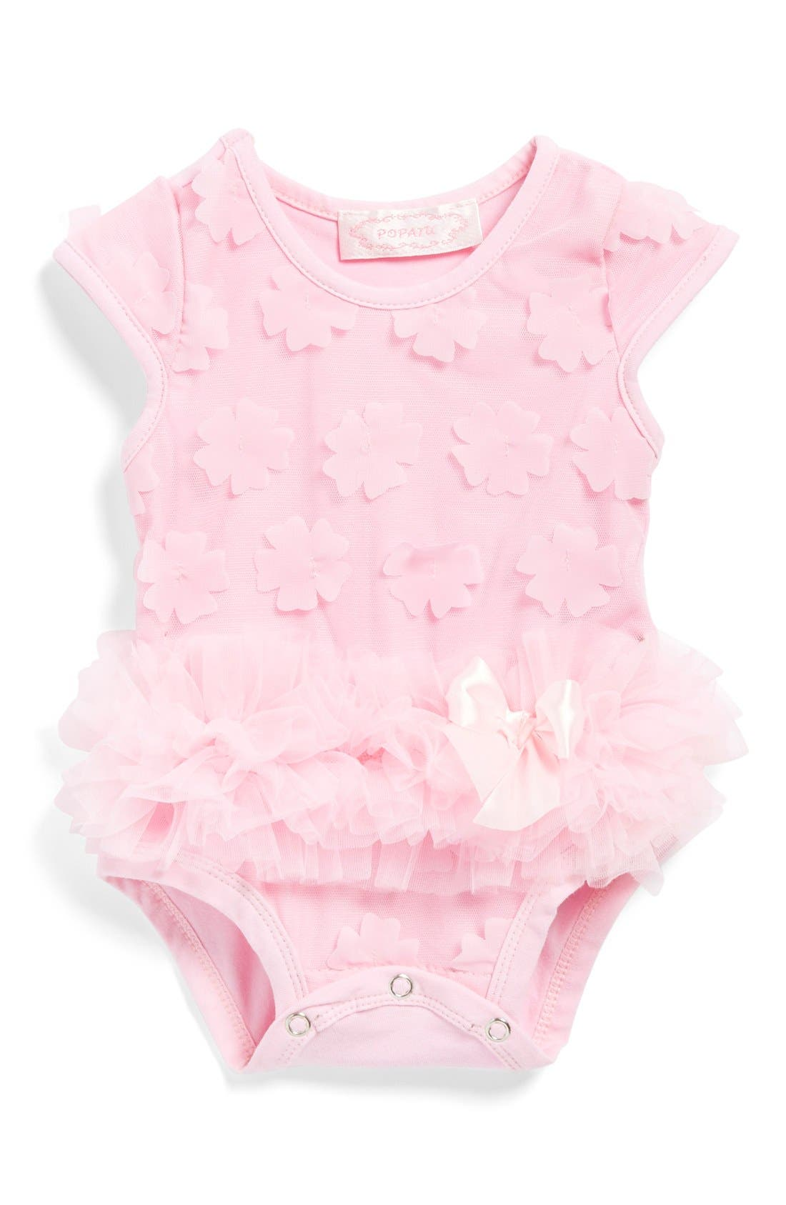Popatu Flower Petal Bodysuit (Baby Girls)