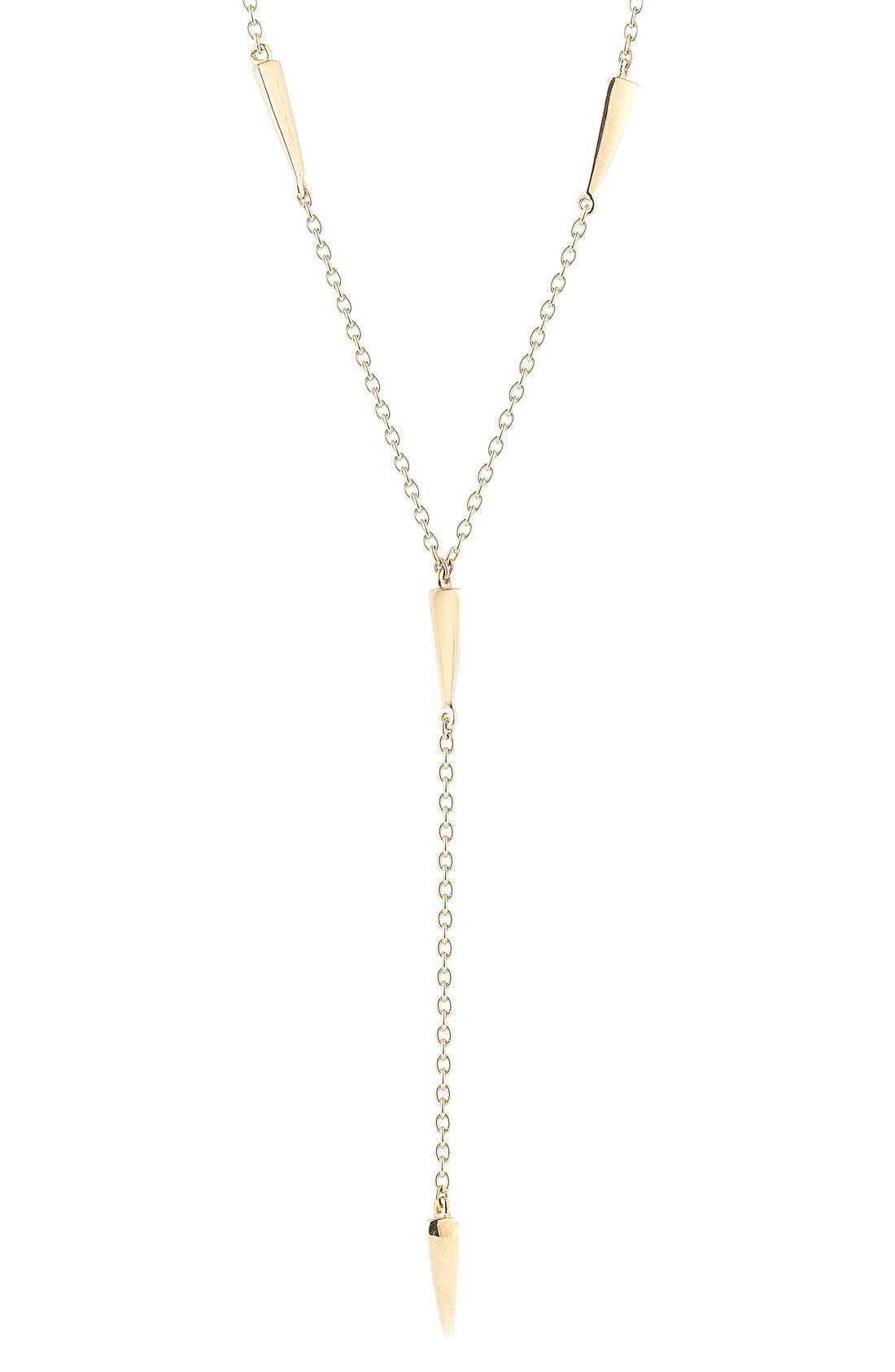 ELIZABETH AND JAMES Miro Y-Necklace