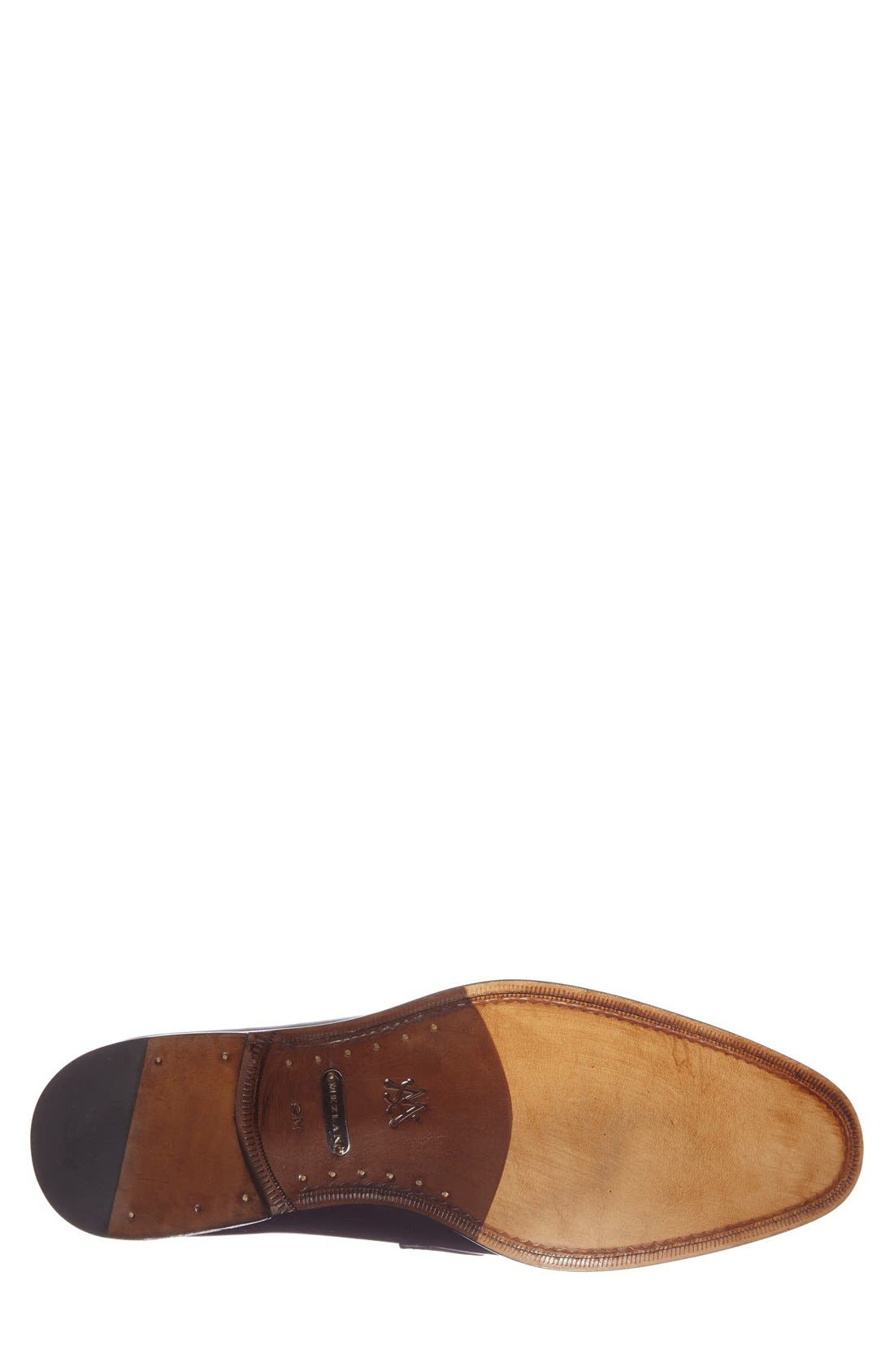 'Worcester' Bit Loafer,                             Alternate thumbnail 4, color,                             Black