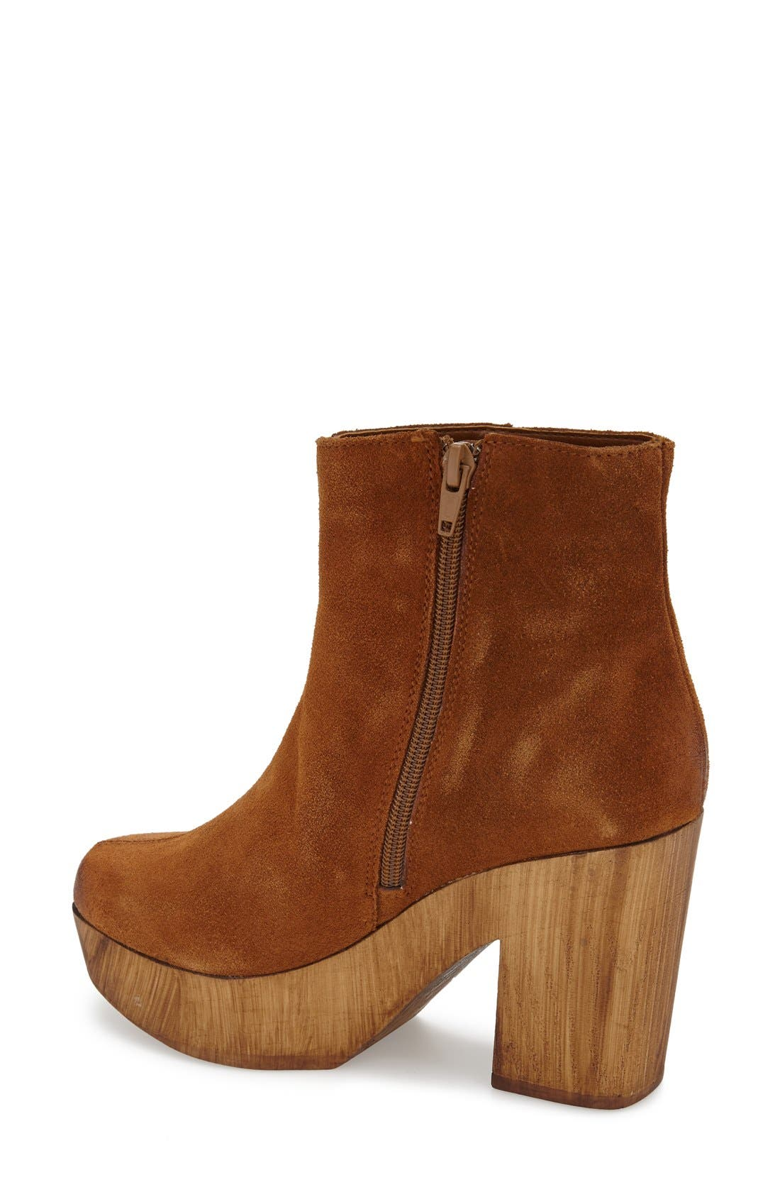 Alternate Image 2  - Topshop 'Hitch' Platform Chelsea Boot (Women)
