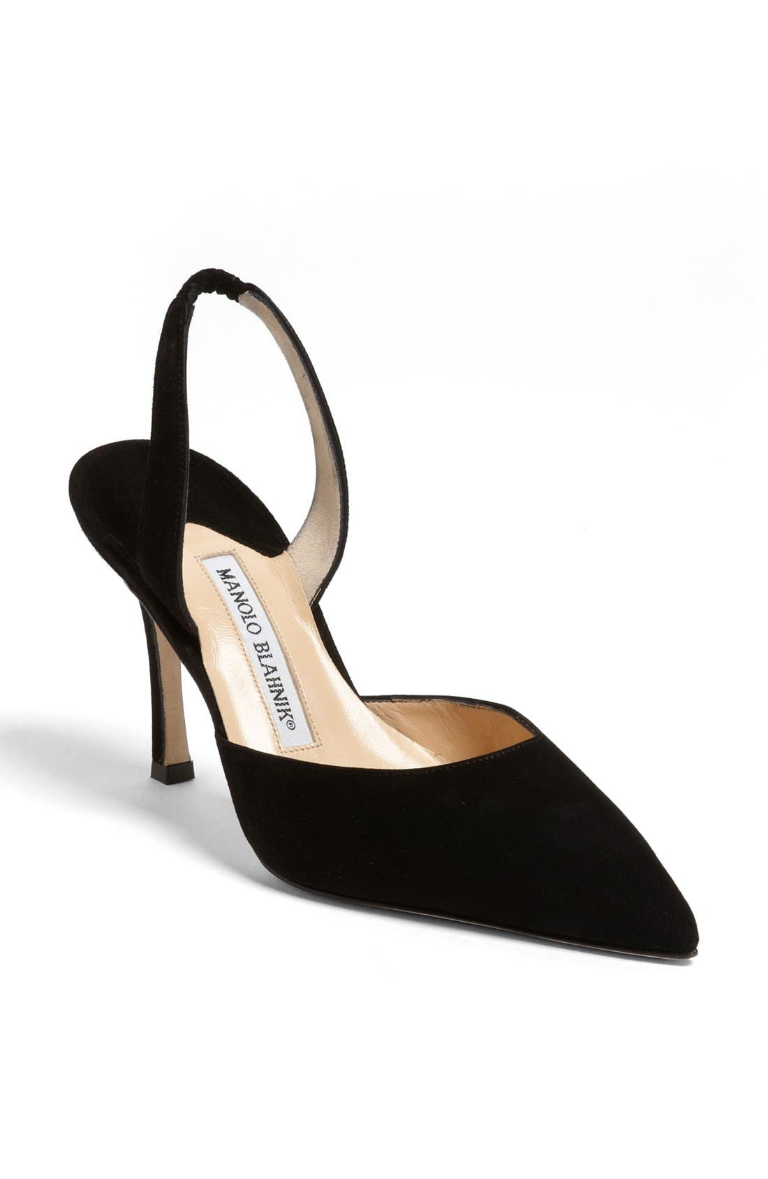 Alternate Image 1 Selected - Manolo Blahnik 'Carolyne' Slingback Pump (Women)