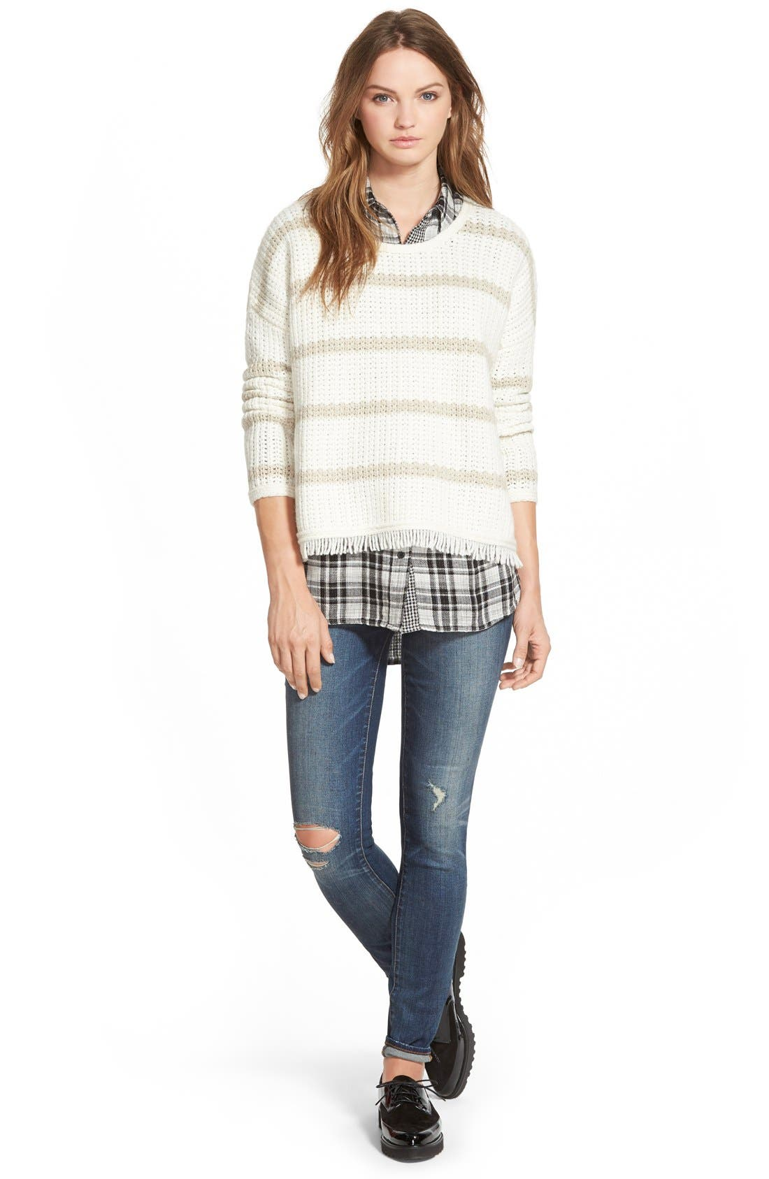 Alternate Image 2  - Madewell 'Kemp Plaid' Ex-Boyfriend Shirt