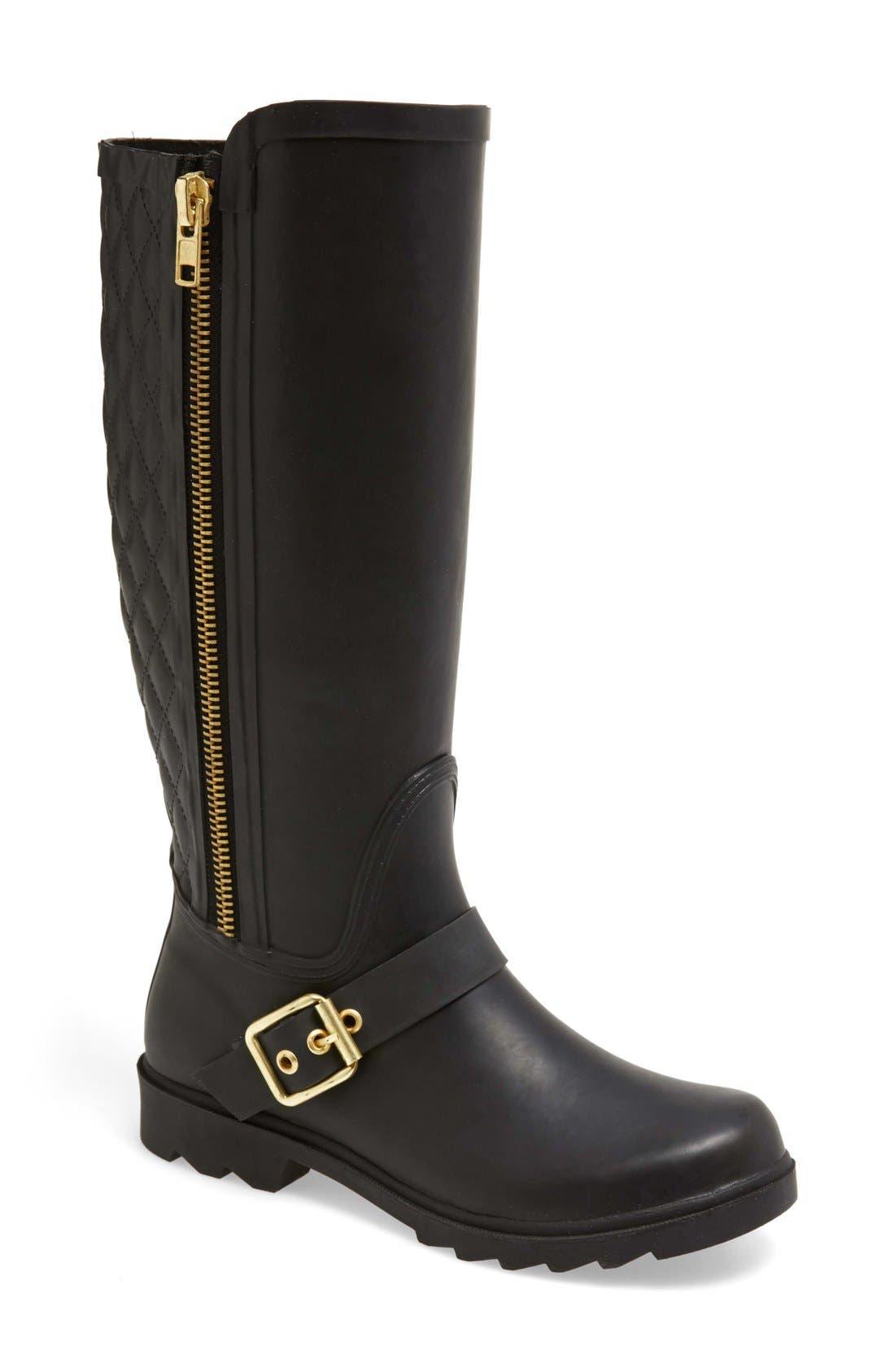 Alternate Image 1 Selected - Steven Madden 'Northpol' TallRain Boot(Women)