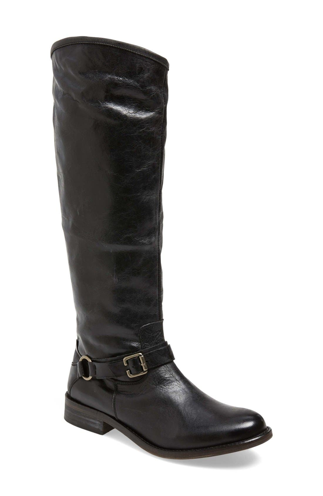 Alternate Image 1 Selected - Hinge 'Dakotah' Knee High Riding Boot (Women)