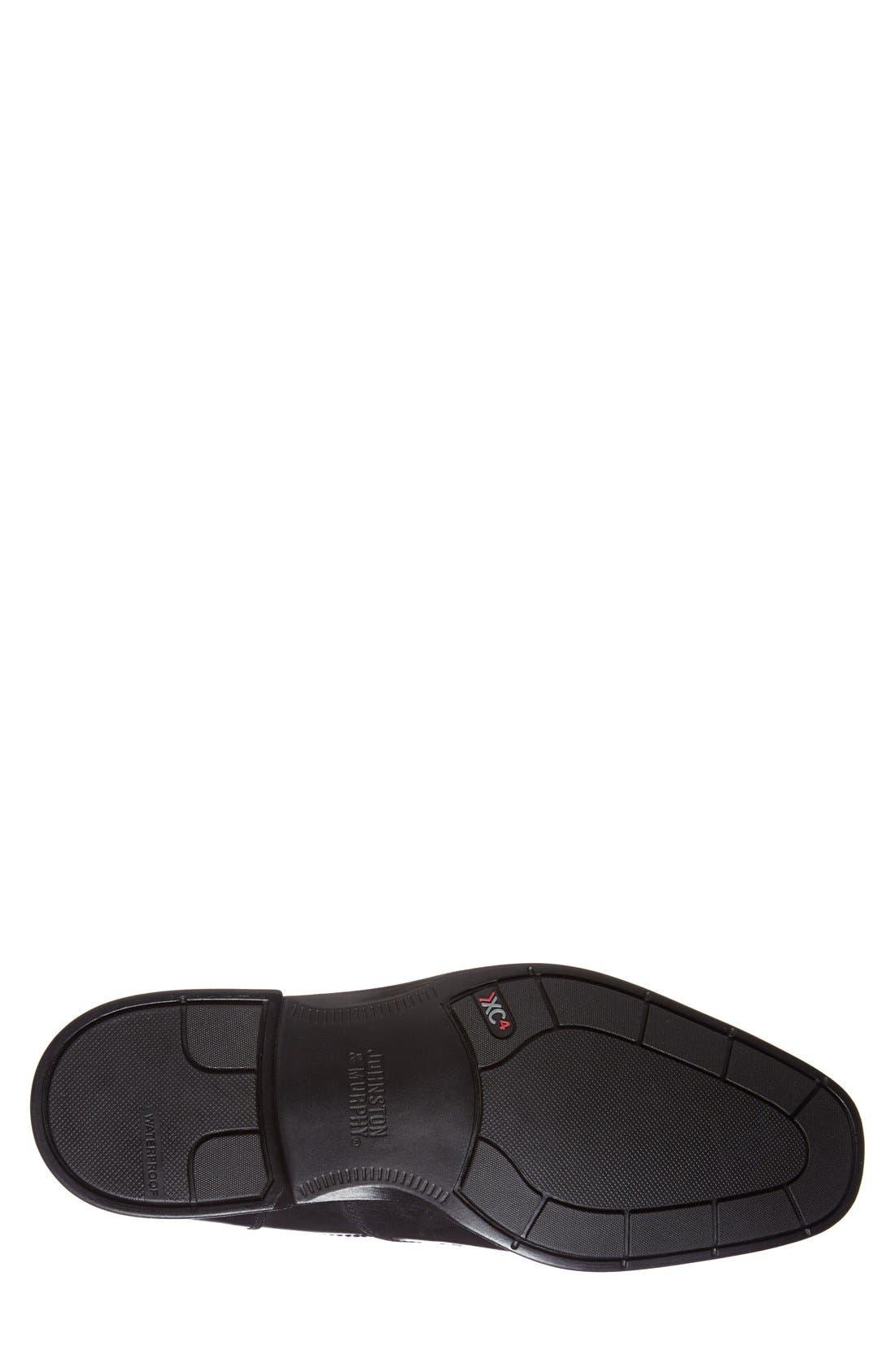 'Branning' Venetian Loafer,                             Alternate thumbnail 4, color,                             Black