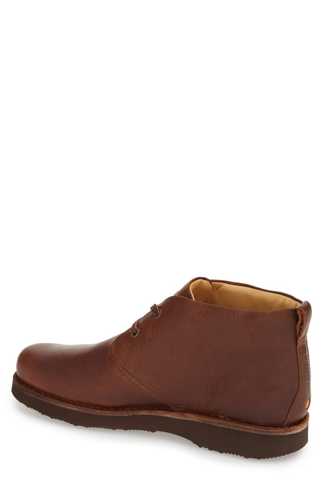 'Boot-Up' Chukka Boot,                             Alternate thumbnail 2, color,                             Saddle Tan Leather