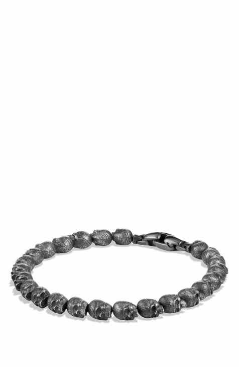 David Yurman Spiritual Beads Bracelet In Silver