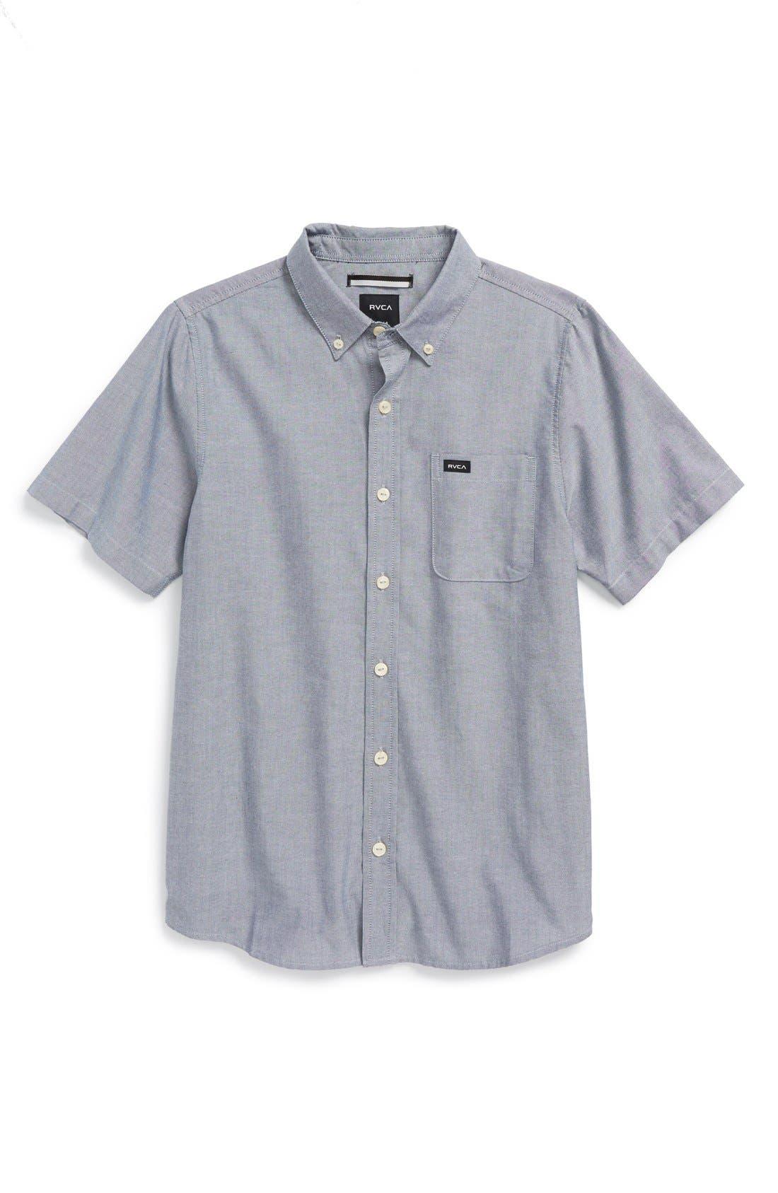 RVCA 'That'll Do' Woven Shirt (Big Boys)