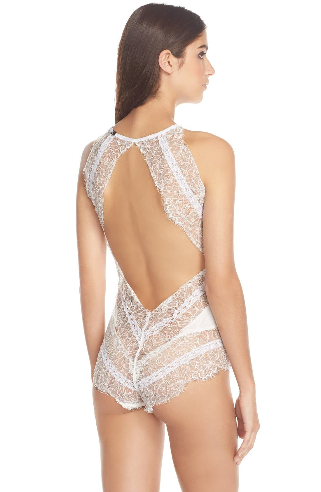 Alternate Image 2  - For Love & Lemons 'Isabelle' Lace Bodysuit
