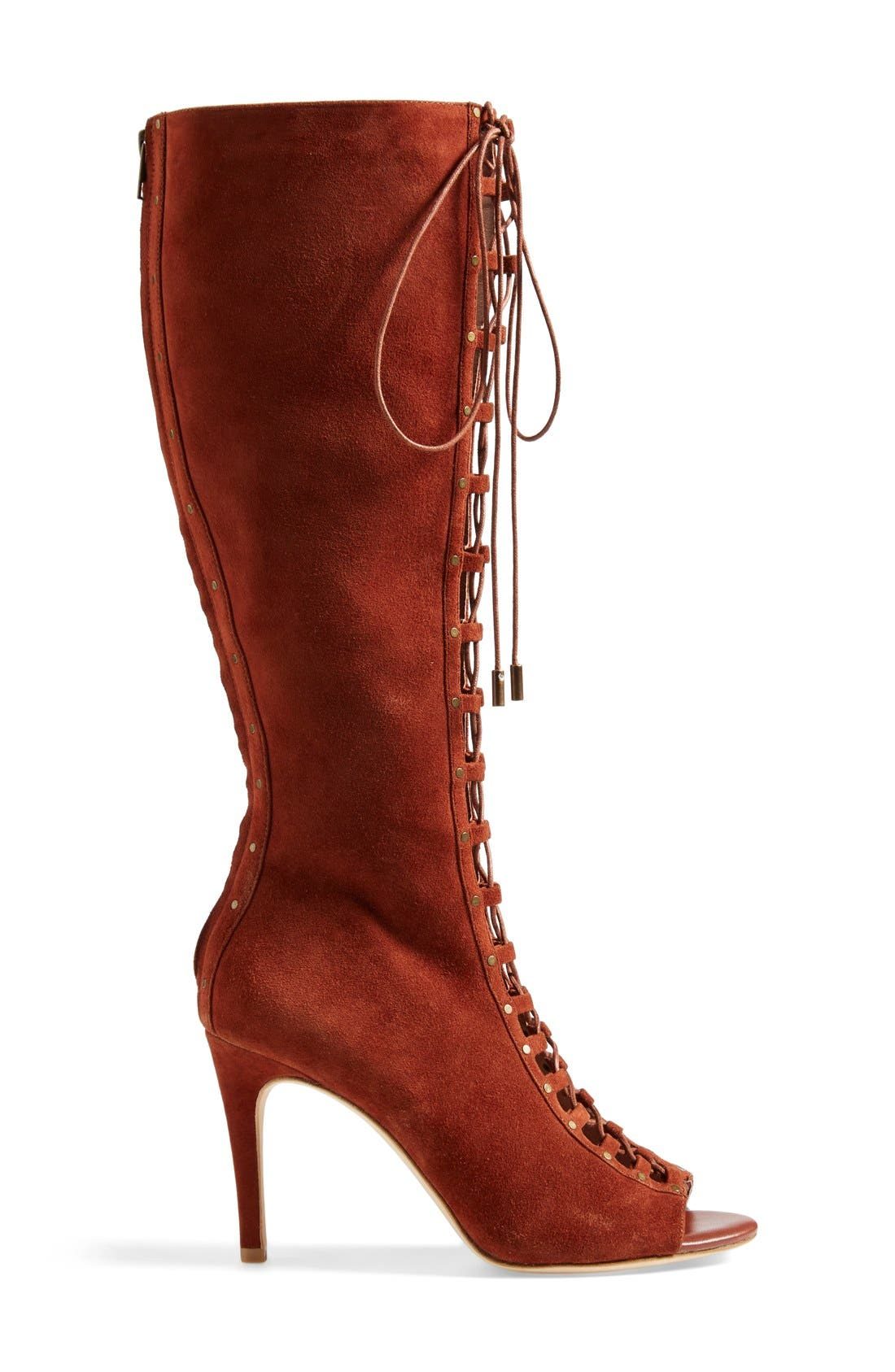 Alternate Image 4  - Joie 'Aubrey' Lace-Up Tall Boot (Women)