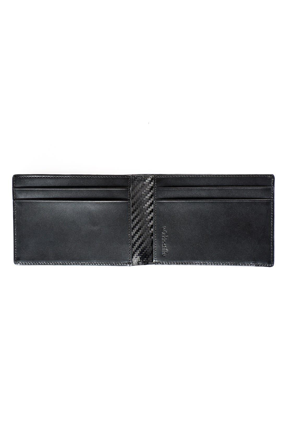 Alternate Image 2  - WürkinStiffs Leather RFIDWallet