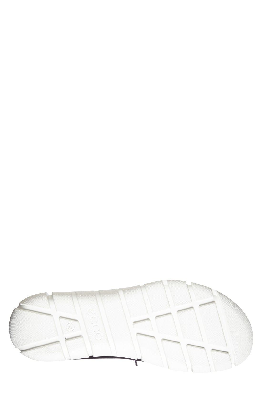 'Intrinsic' Sneaker,                             Alternate thumbnail 4, color,                             Black Leather