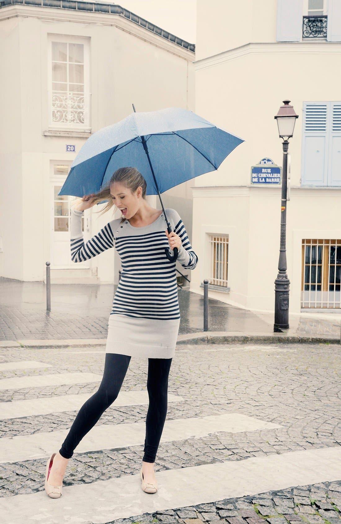 Alternate Image 4  - Seraphine'Rozalia' Stripe Maternity/Nursing Sweater Dress