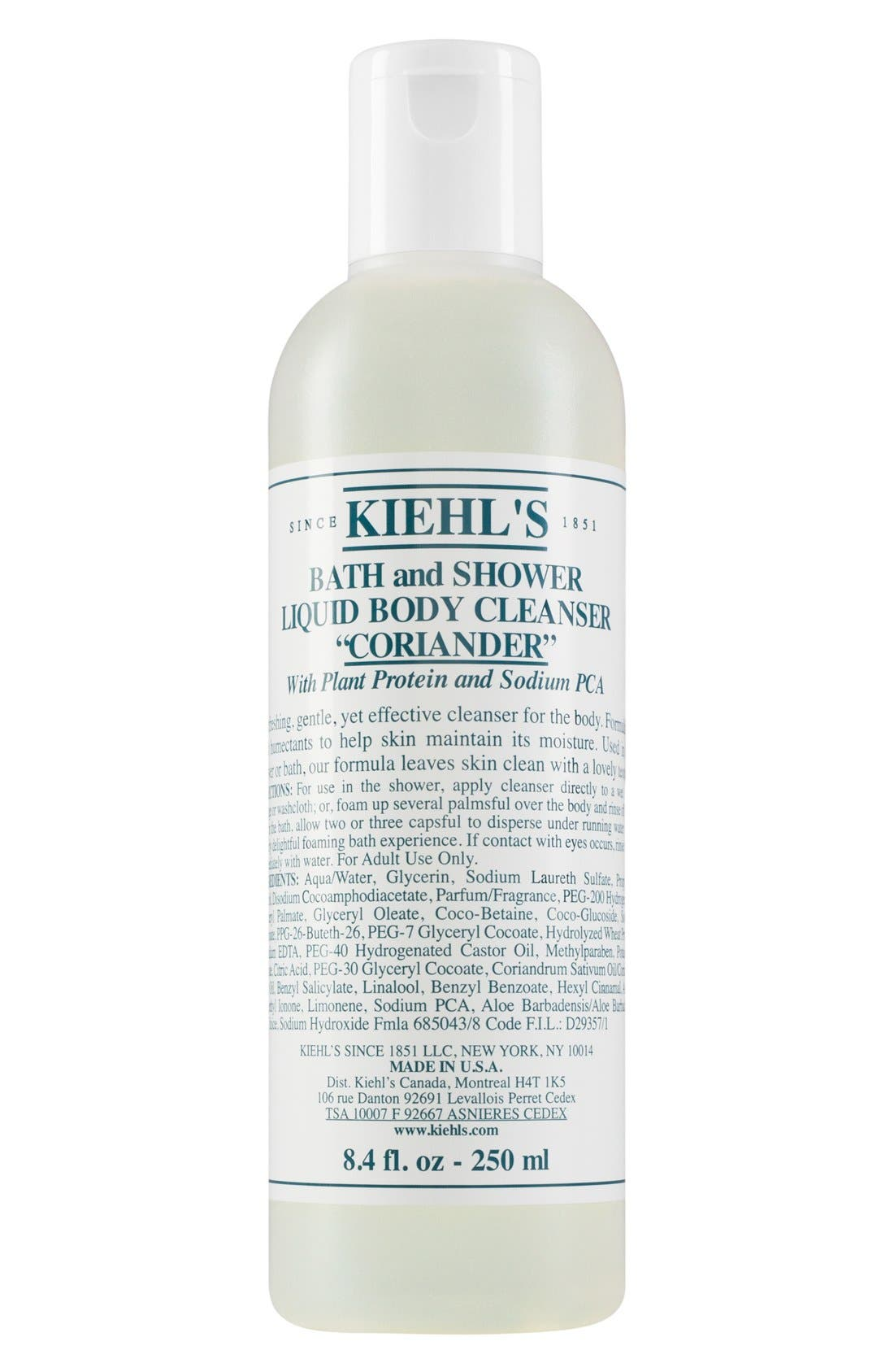 Kiehl's Since 1851 Coriander Bath & Shower Liquid Body Cleanser