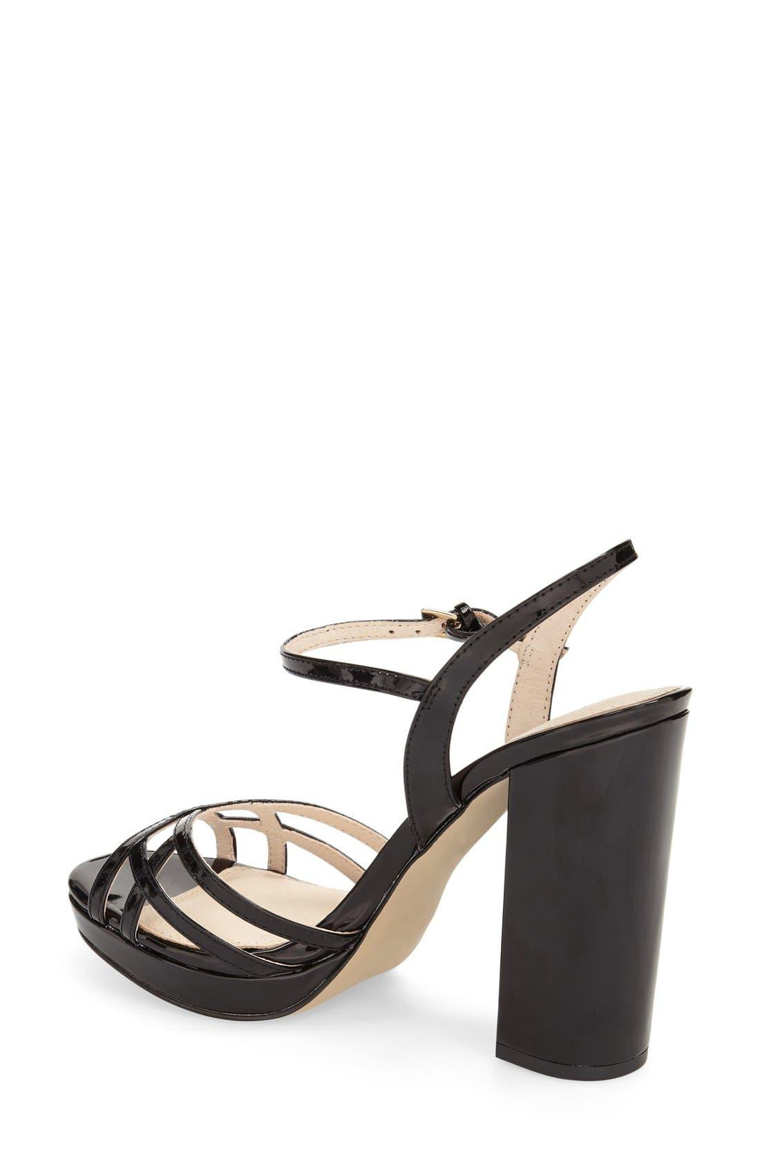Alternate Image 2  - Topshop 'Lola' Ankle Strap Platform Sandal (Women)