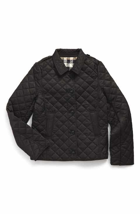 Coats & Outerwear Burberry for Kids: Clothing & Accessories ... : burberry kids quilted jacket - Adamdwight.com