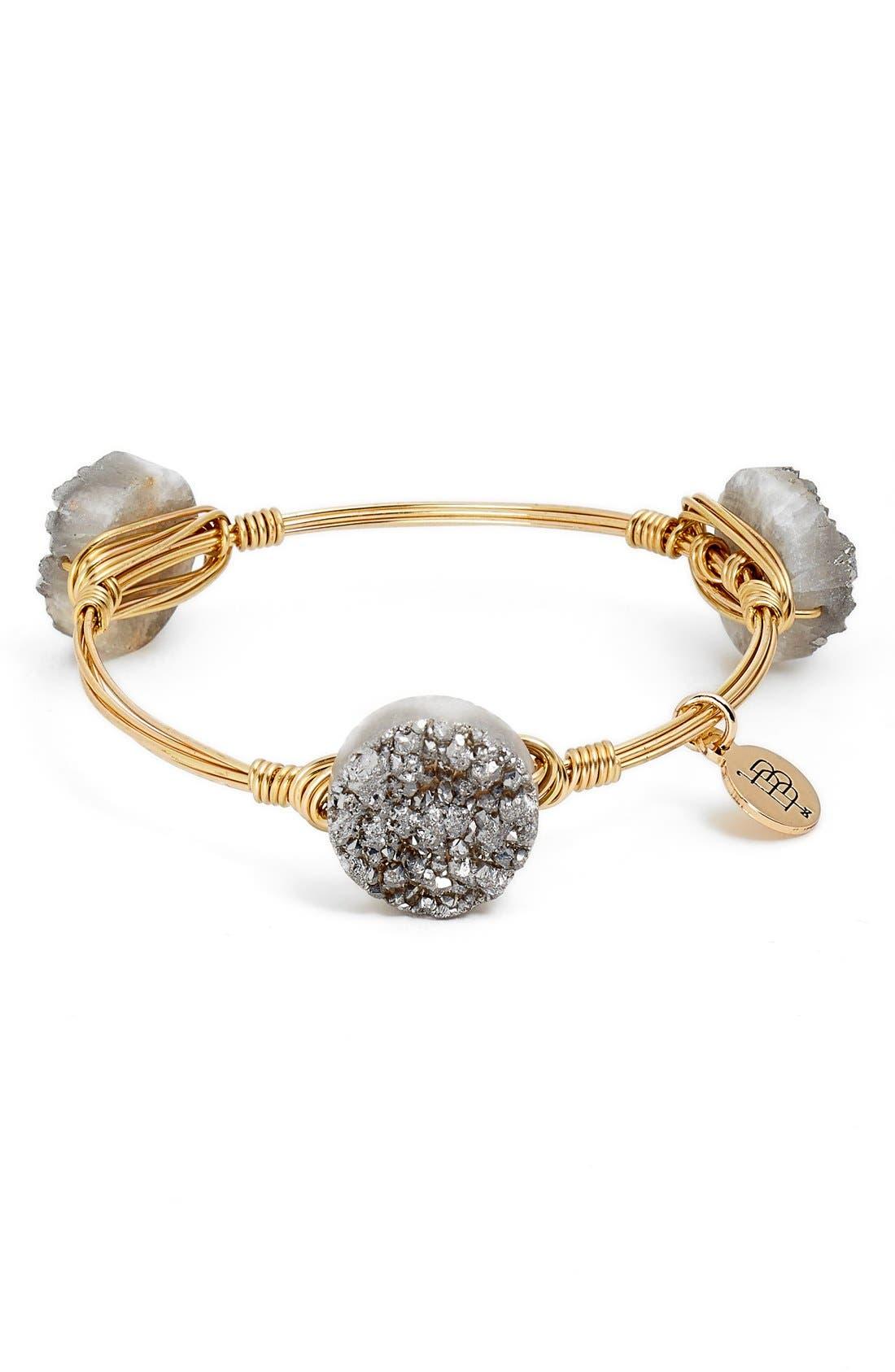 Alternate Image 3  - Bourbon and Boweties Large Stone Bracelet