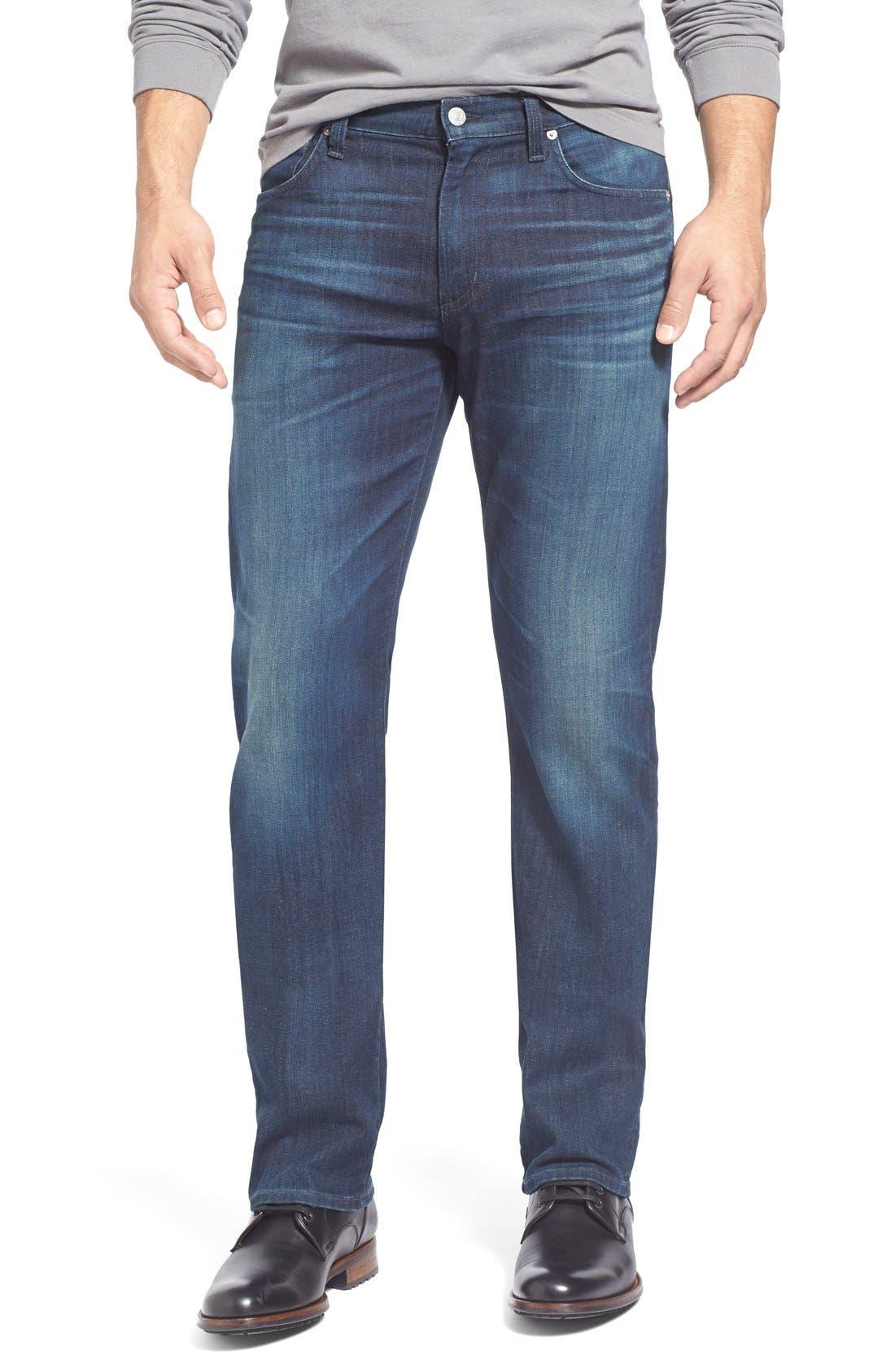 'Sid Classic' Straight Leg Jeans,                         Main,                         color, Marshall