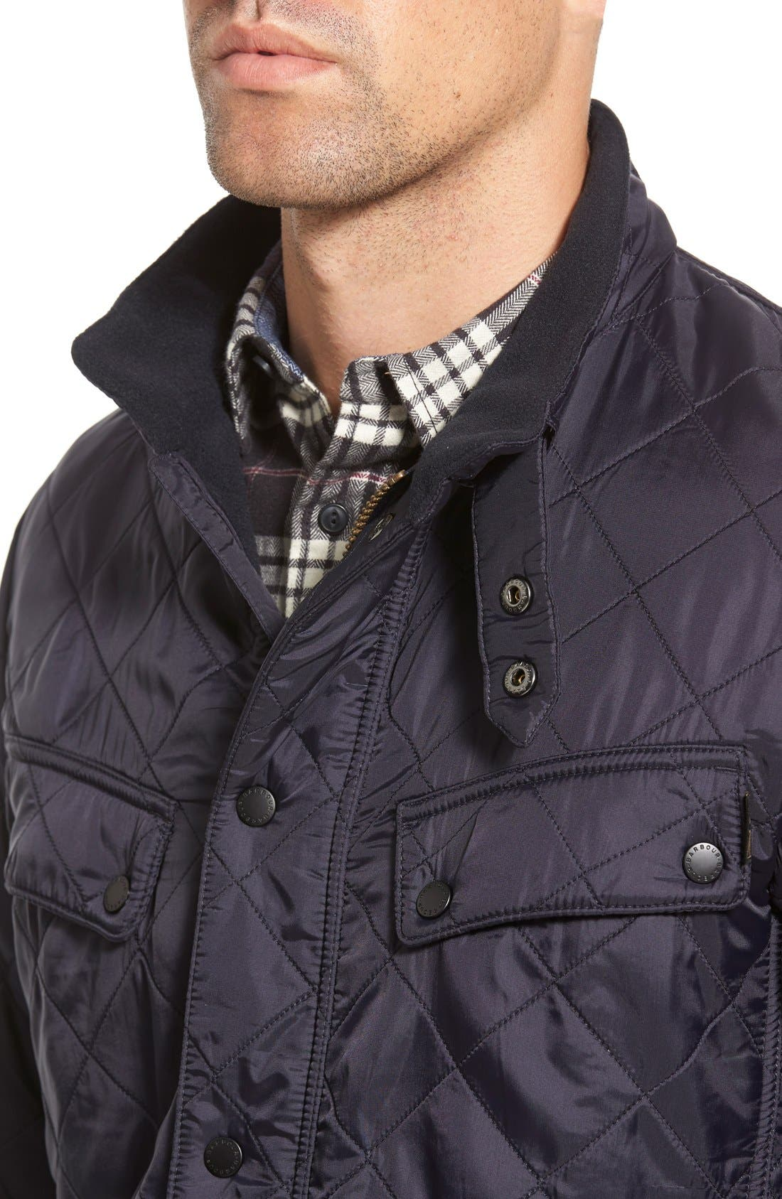 Alternate Image 4  - Barbour 'Ariel' Regular Fit Polarquilt Coat