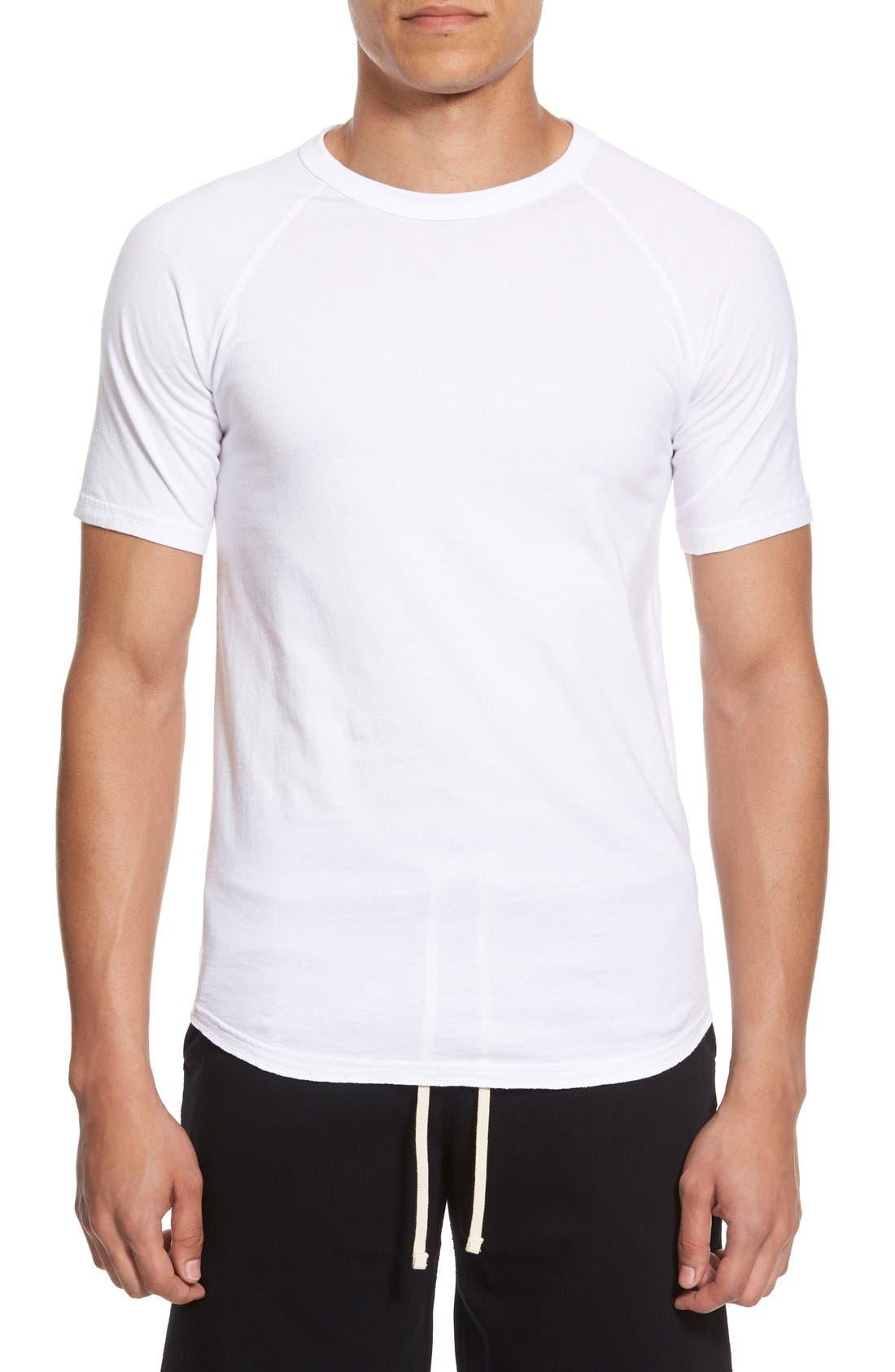 Reigning Champ Jersey Raglan Crewneck T-Shirt