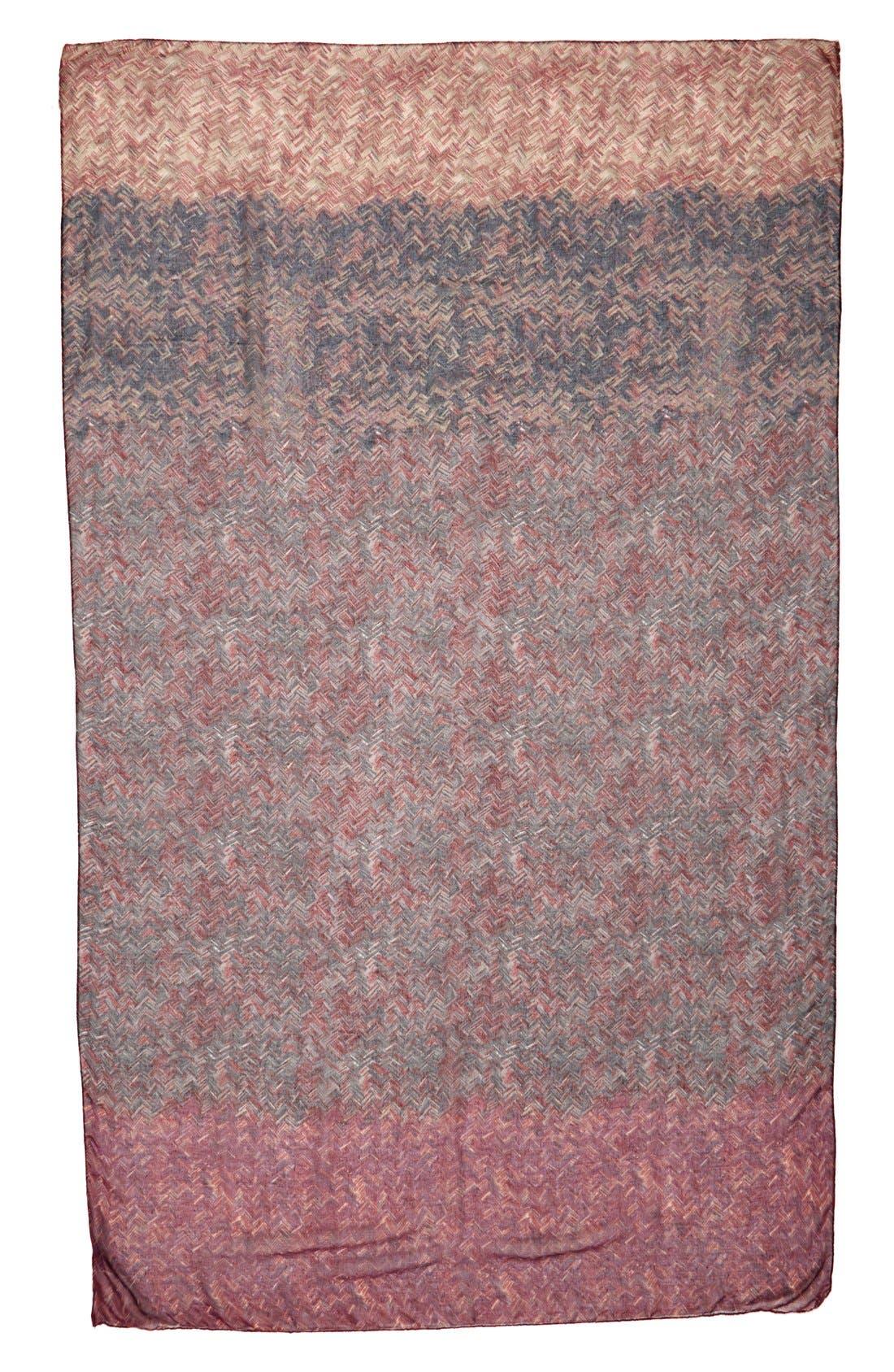 Alternate Image 2  - TashaOmbré Woven PrintScarf