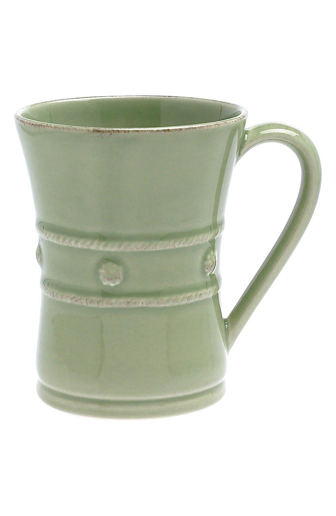 'Berry and Thread' Ceramic Coffee Mug,                         Main,                         color, Pistachio