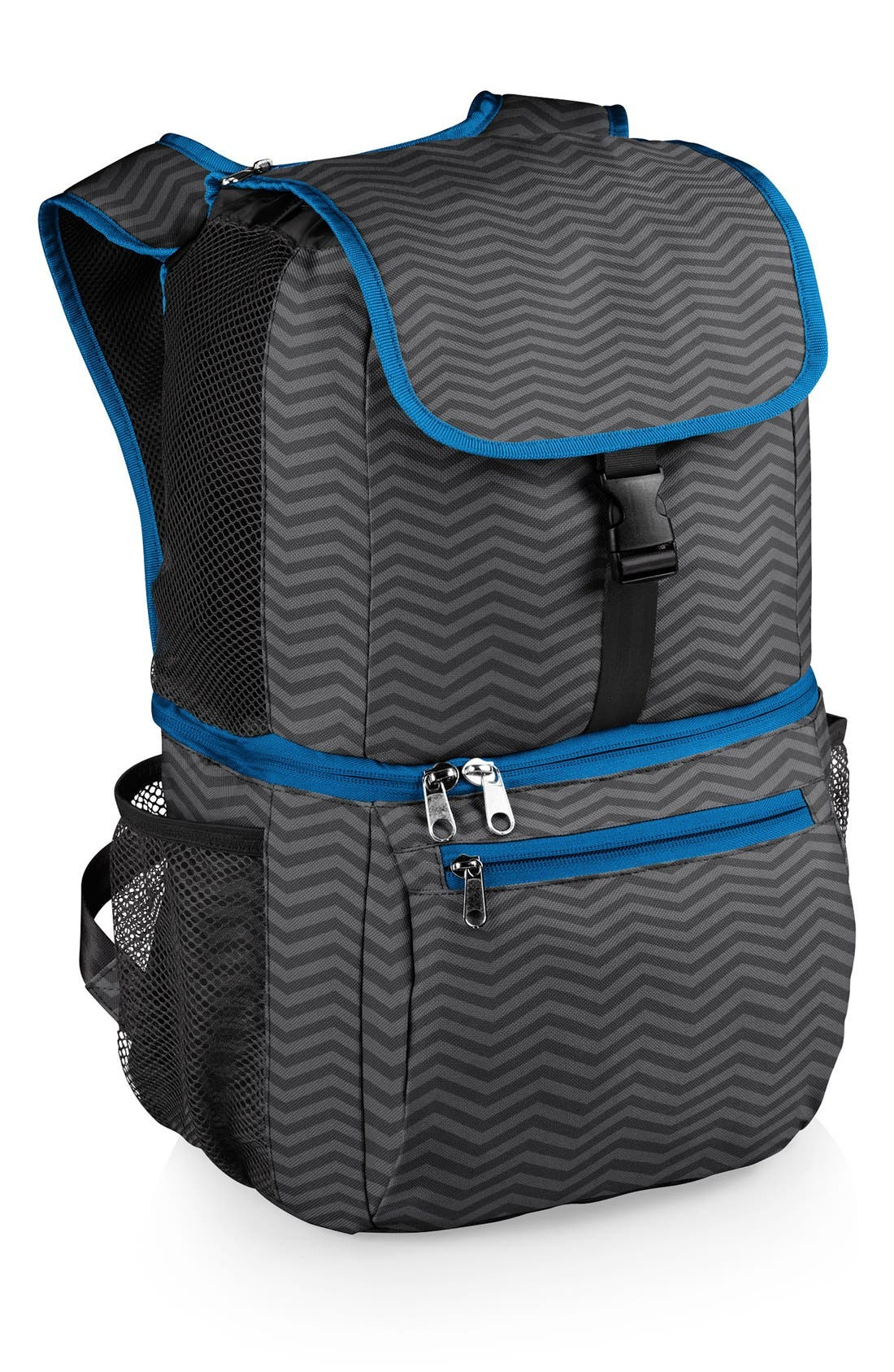 'Pismo' Insulated Cooler Backpack,                             Main thumbnail 1, color,                             Grey