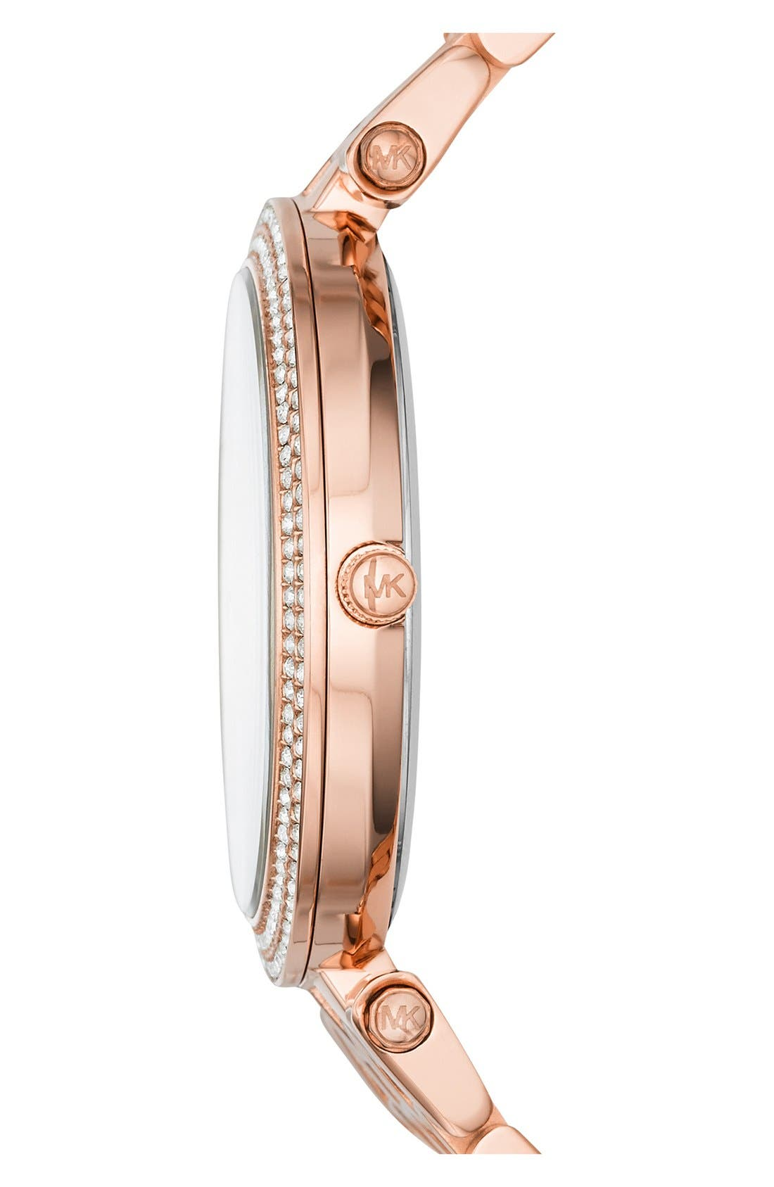 Alternate Image 2  - Michael Kors'Darci' Bracelet Watch, 39mm