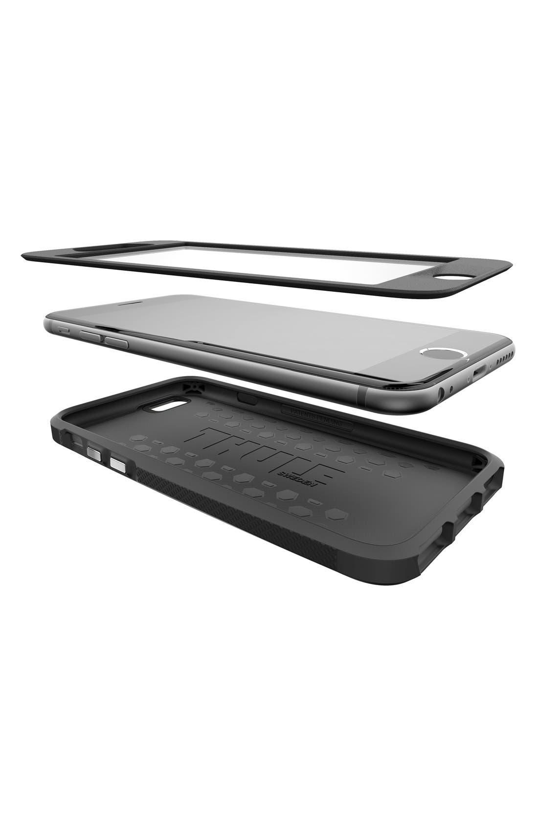 Atmos X4 iPhone 6 Plus/6s Plus Case,                             Alternate thumbnail 4, color,                             Black