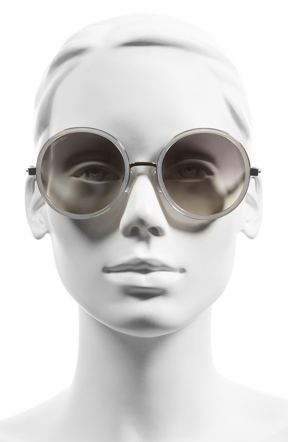 Alternate Image 2  - Jimmy Choo'Andies' 54mm Round Sunglasses