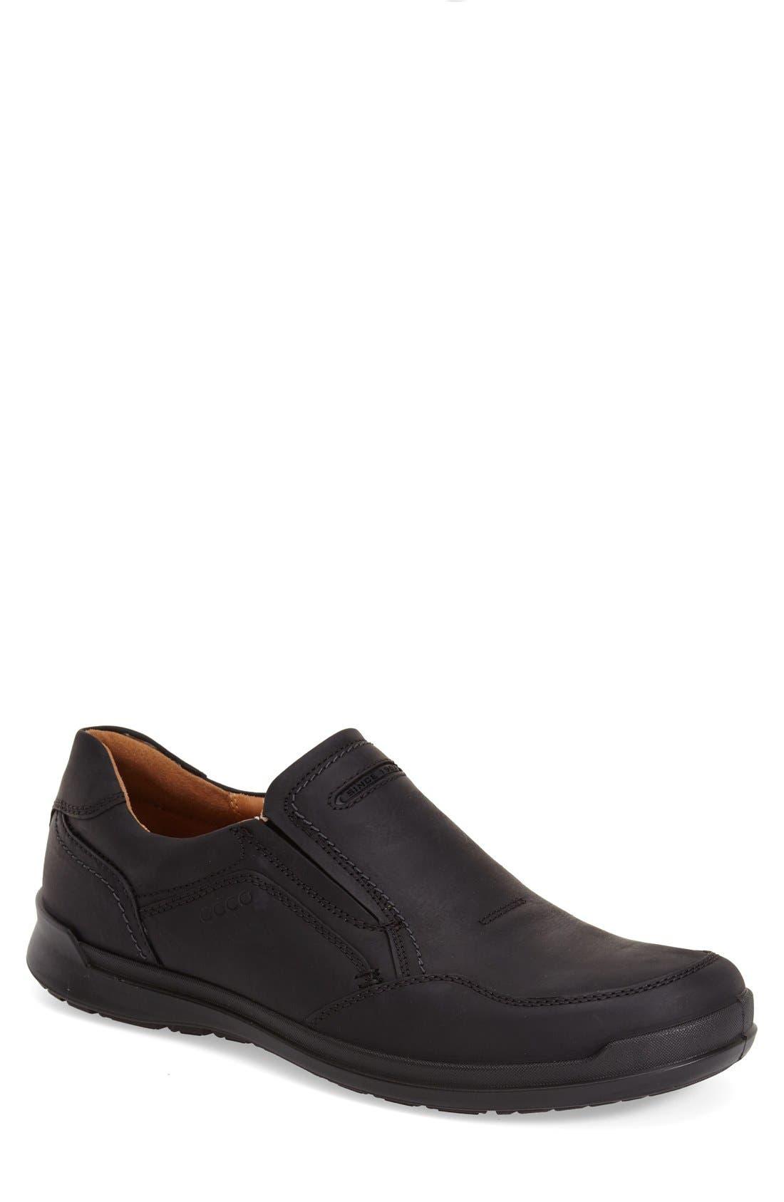 'Howell' Slip-On,                         Main,                         color, Black
